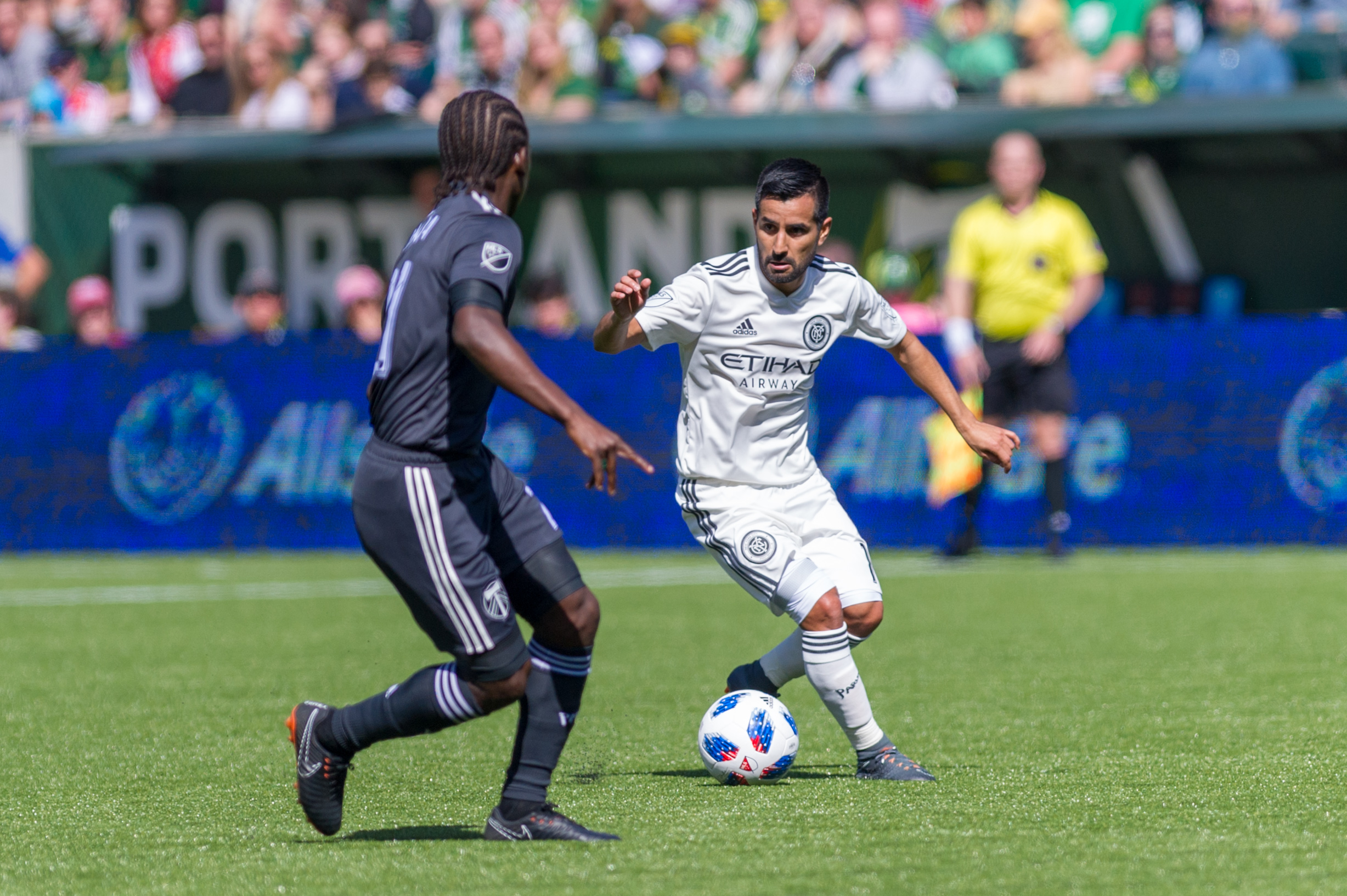 SOCCER: APR 22 MLS - New York City FC at Portland Timbers