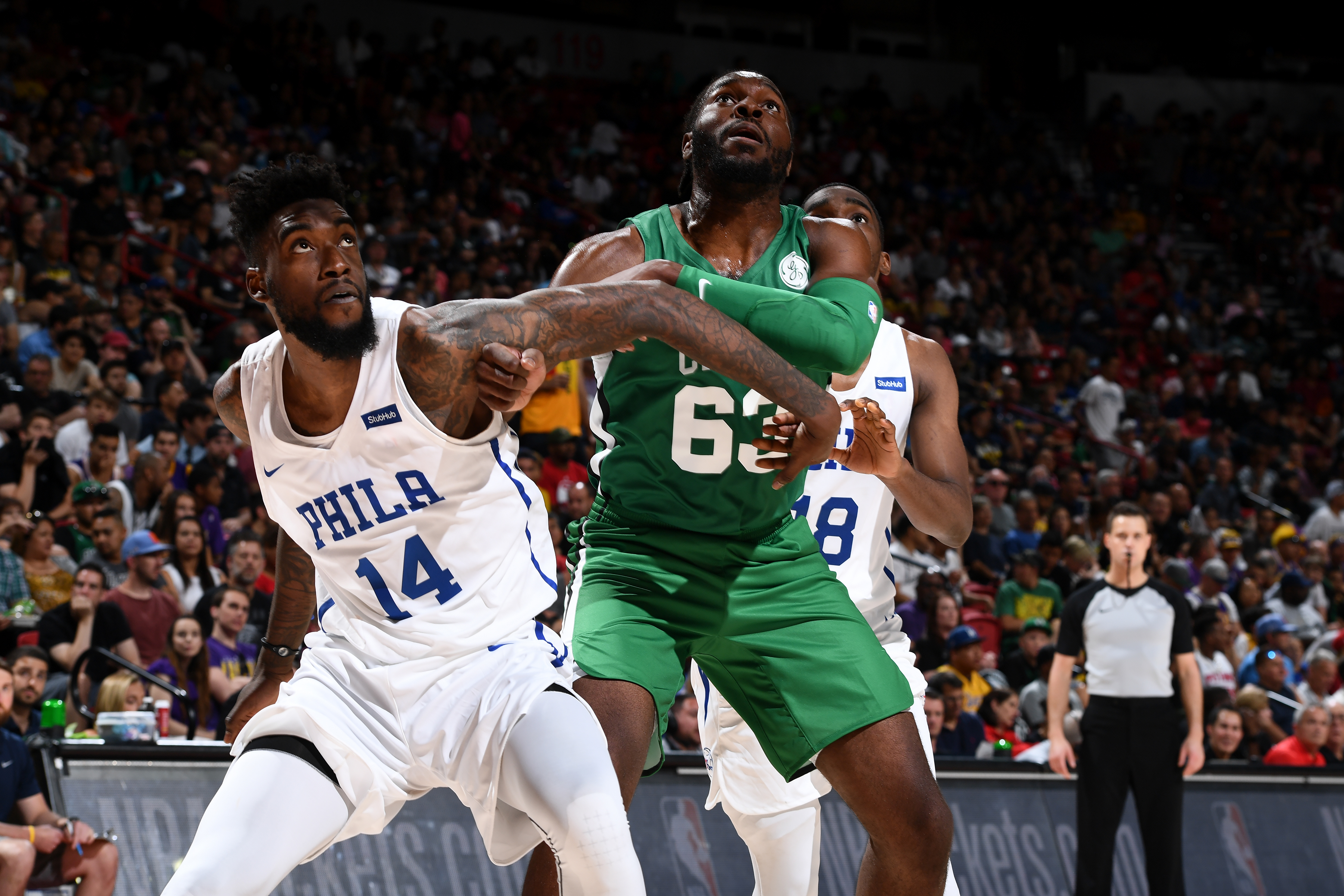 2019 Las Vegas Summer League - Day 2 - Boston Celtics v Philadelphia 76ers