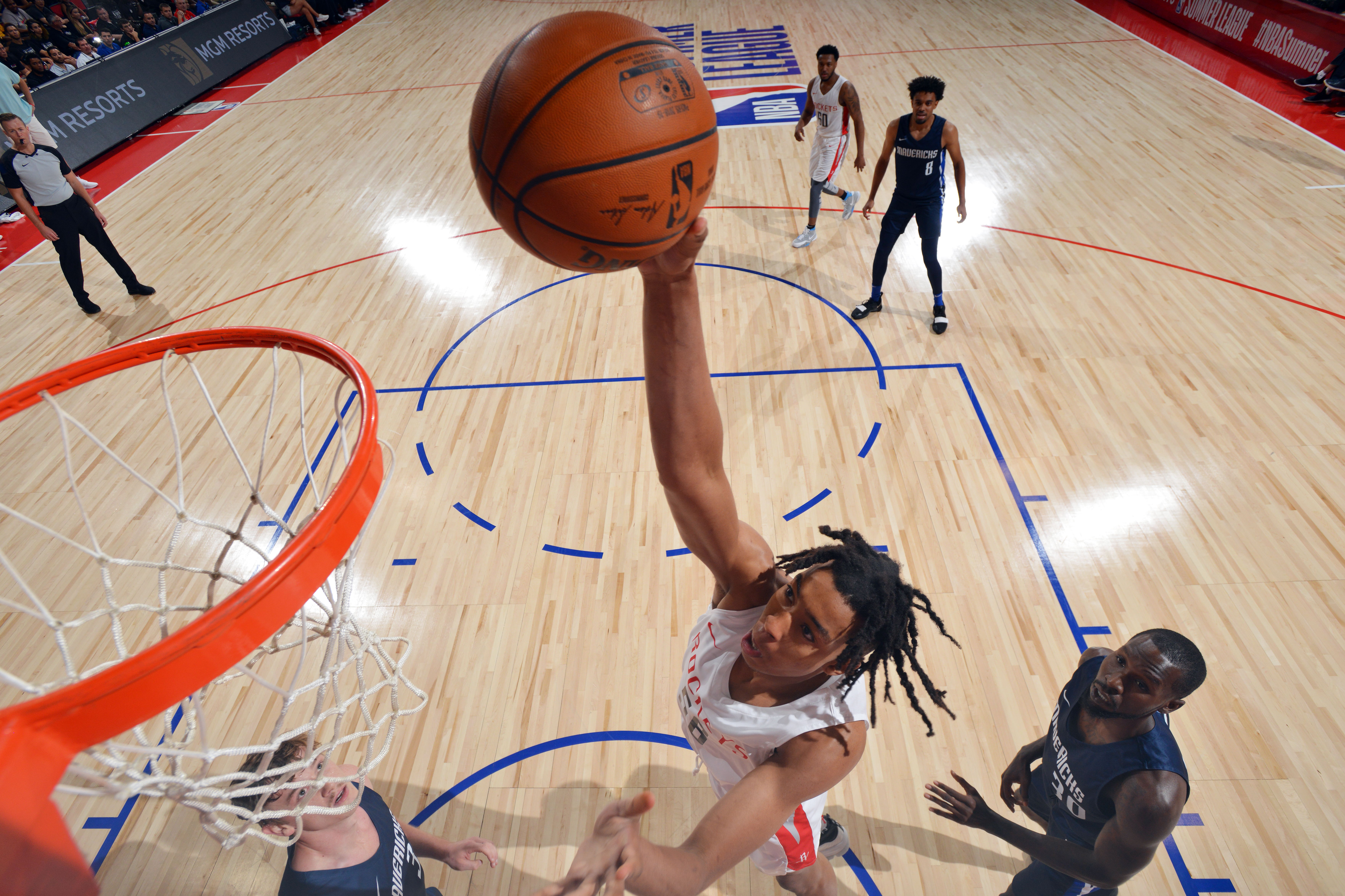 2019 Las Vegas Summer League - Day 2 - Dallas Mavericks v Houston Rockets