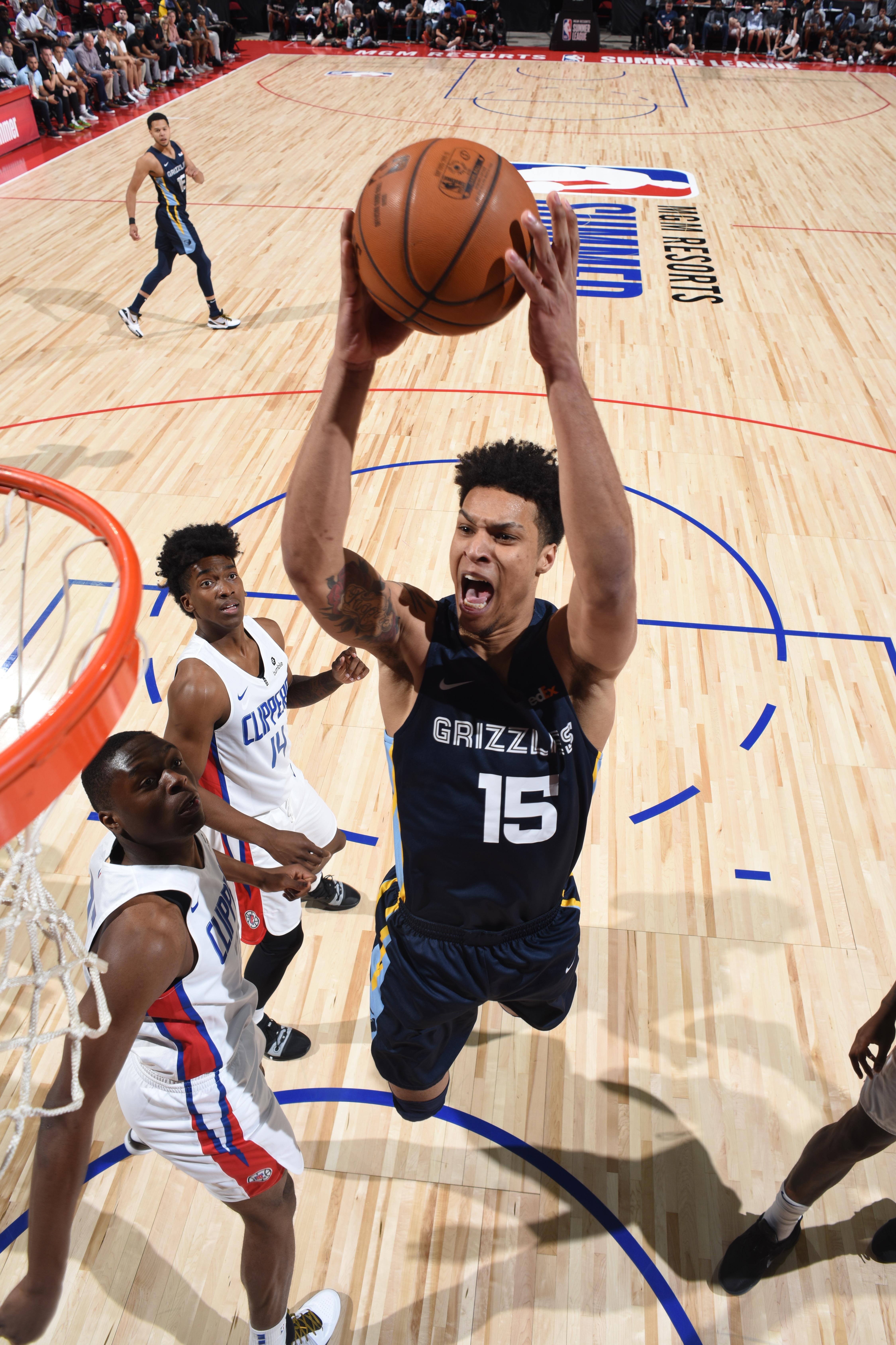 2019 Las Vegas Summer League - Day 3 - Memphis Grizzlies v LA Clippers