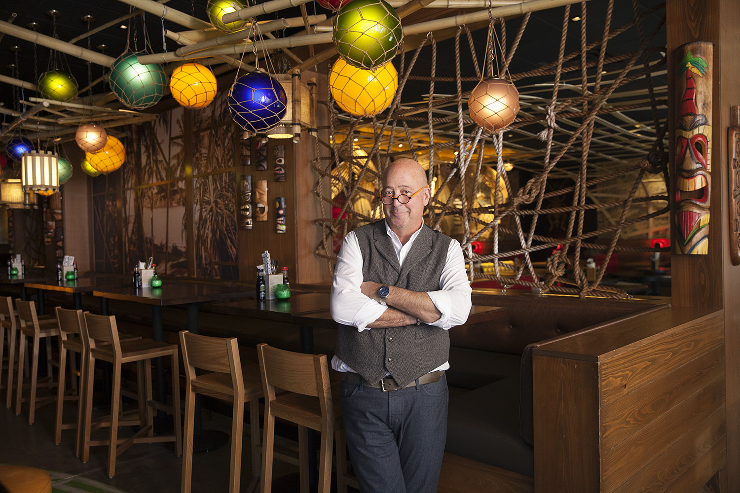 Andrew Zimmern's Lucky Cricket Abruptly Closes for Remodel