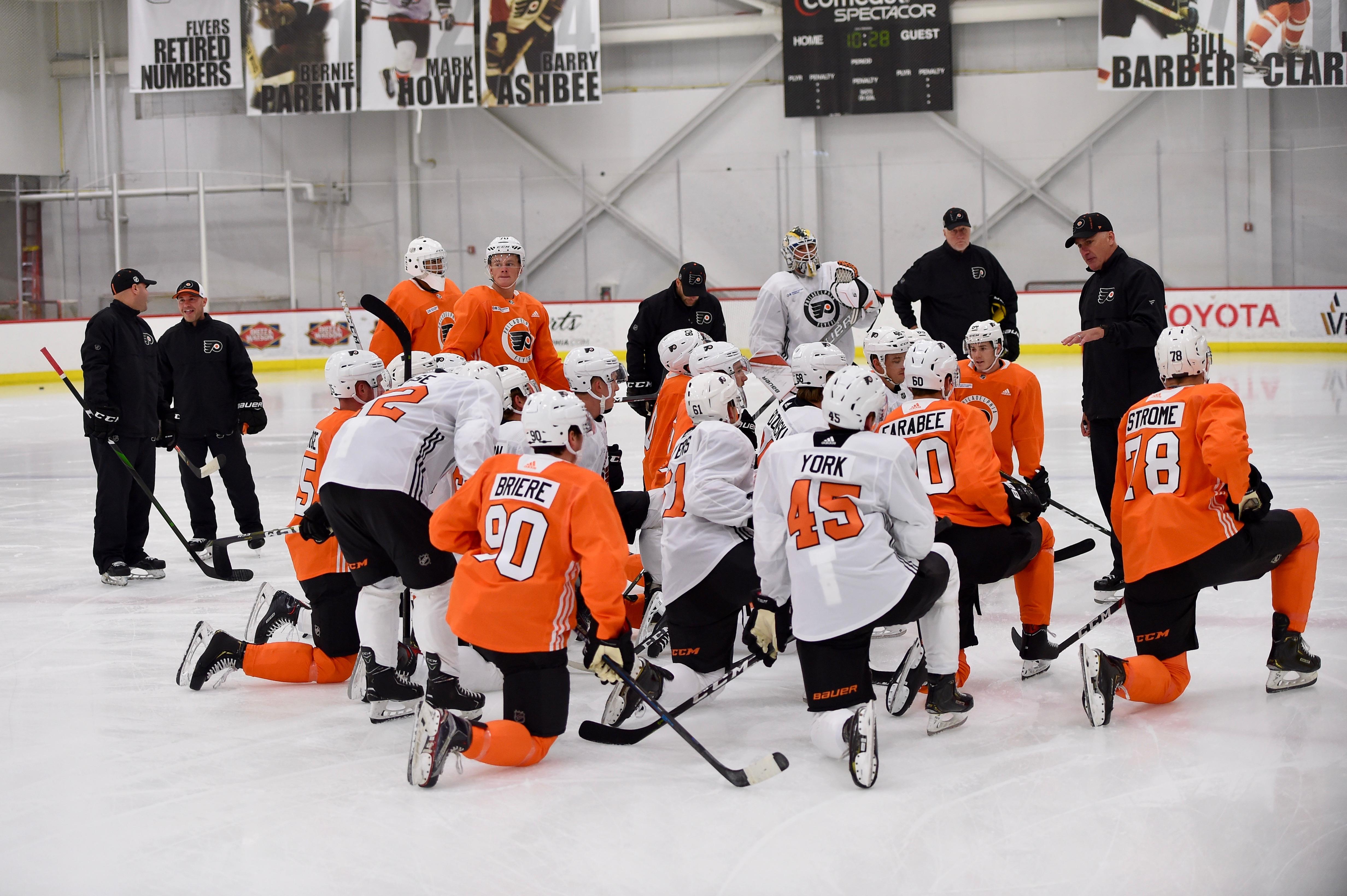 NHL: JUN 26 Philadelphia Flyers Development Camp