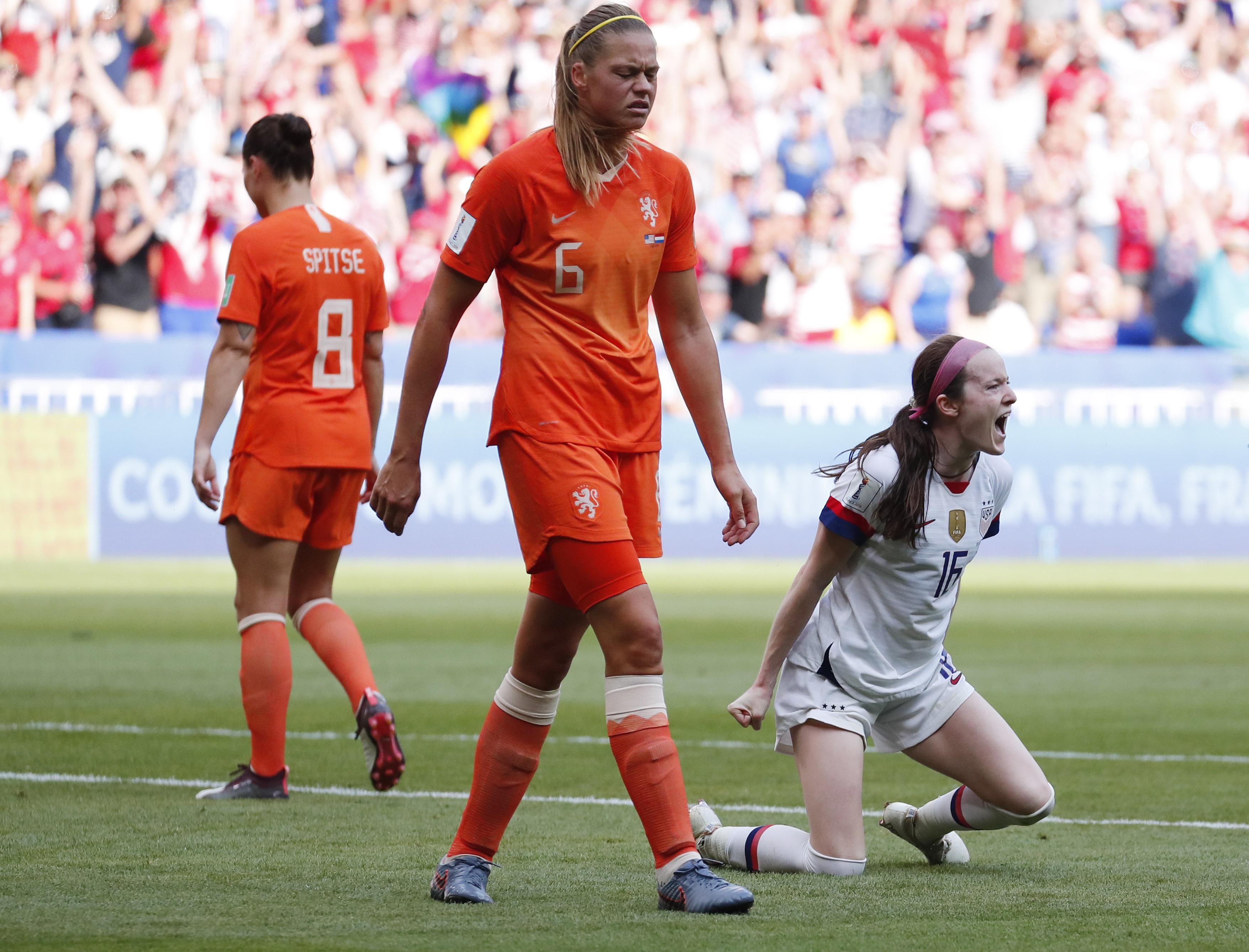Soccer: Womens World Cup-USA vs Netherlands