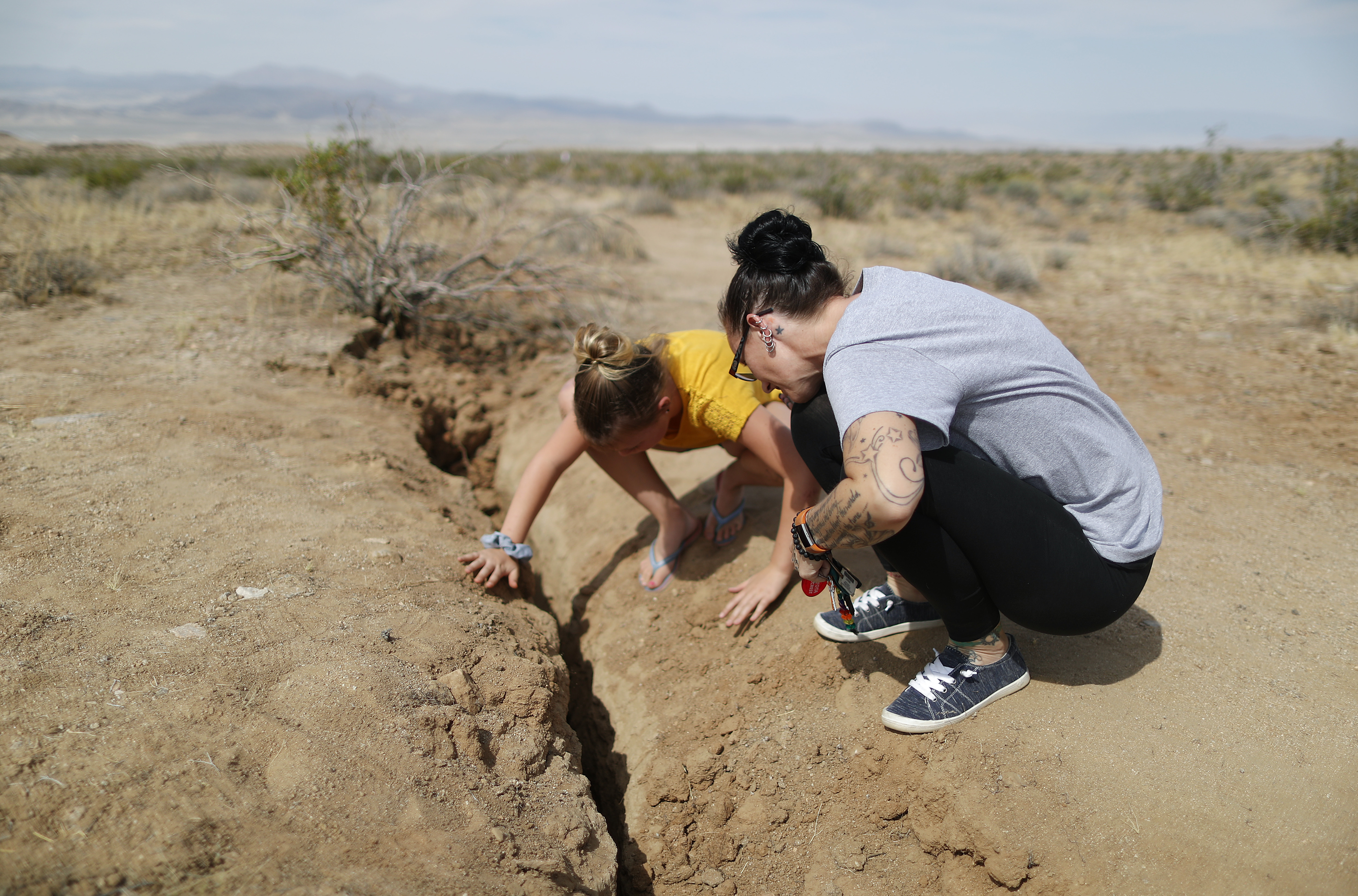 Southern California Hit By Second Big Earthquake In Two Days
