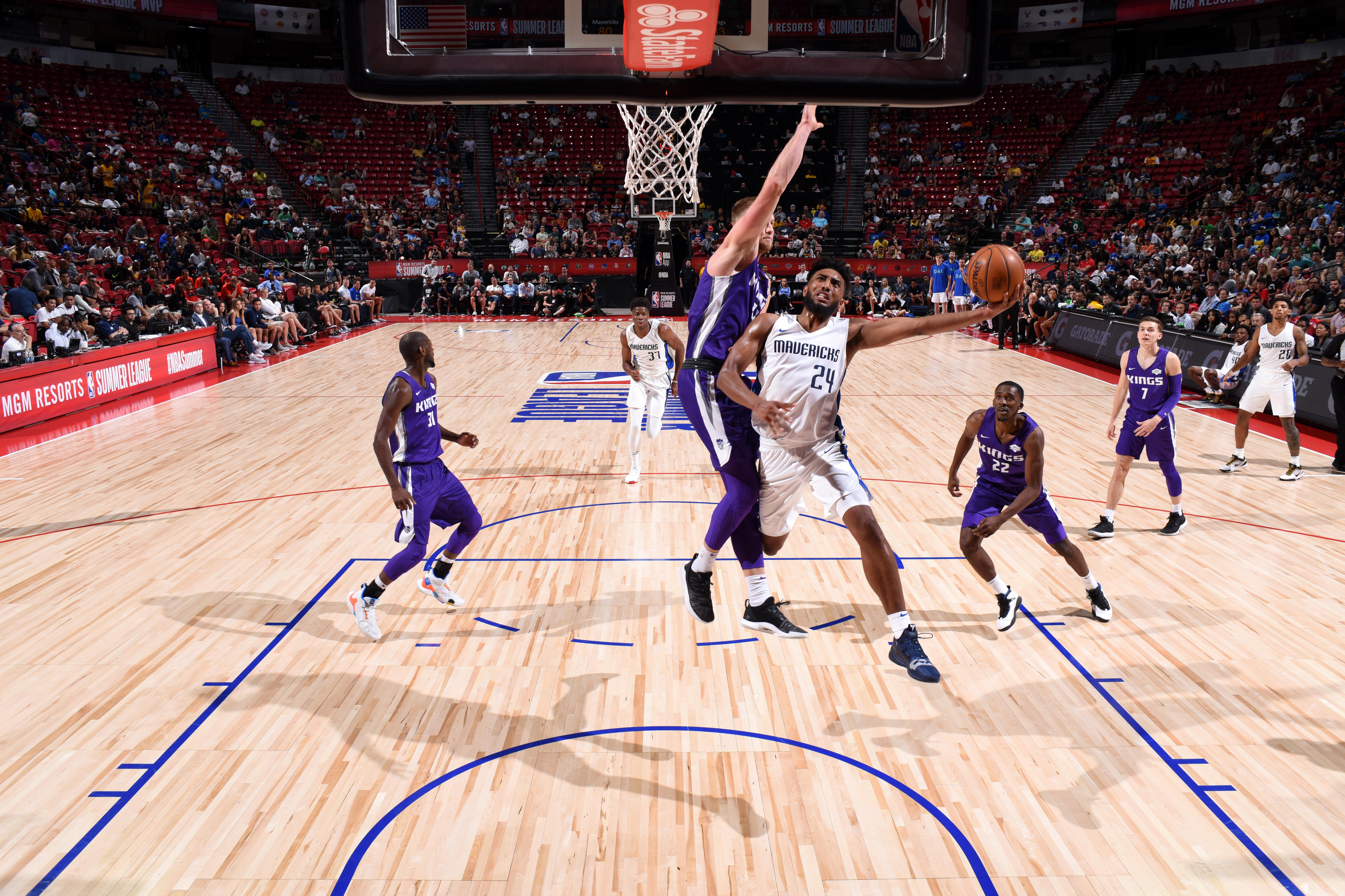 2019 Las Vegas Summer League - Sacramento Kings v Dallas Mavericks