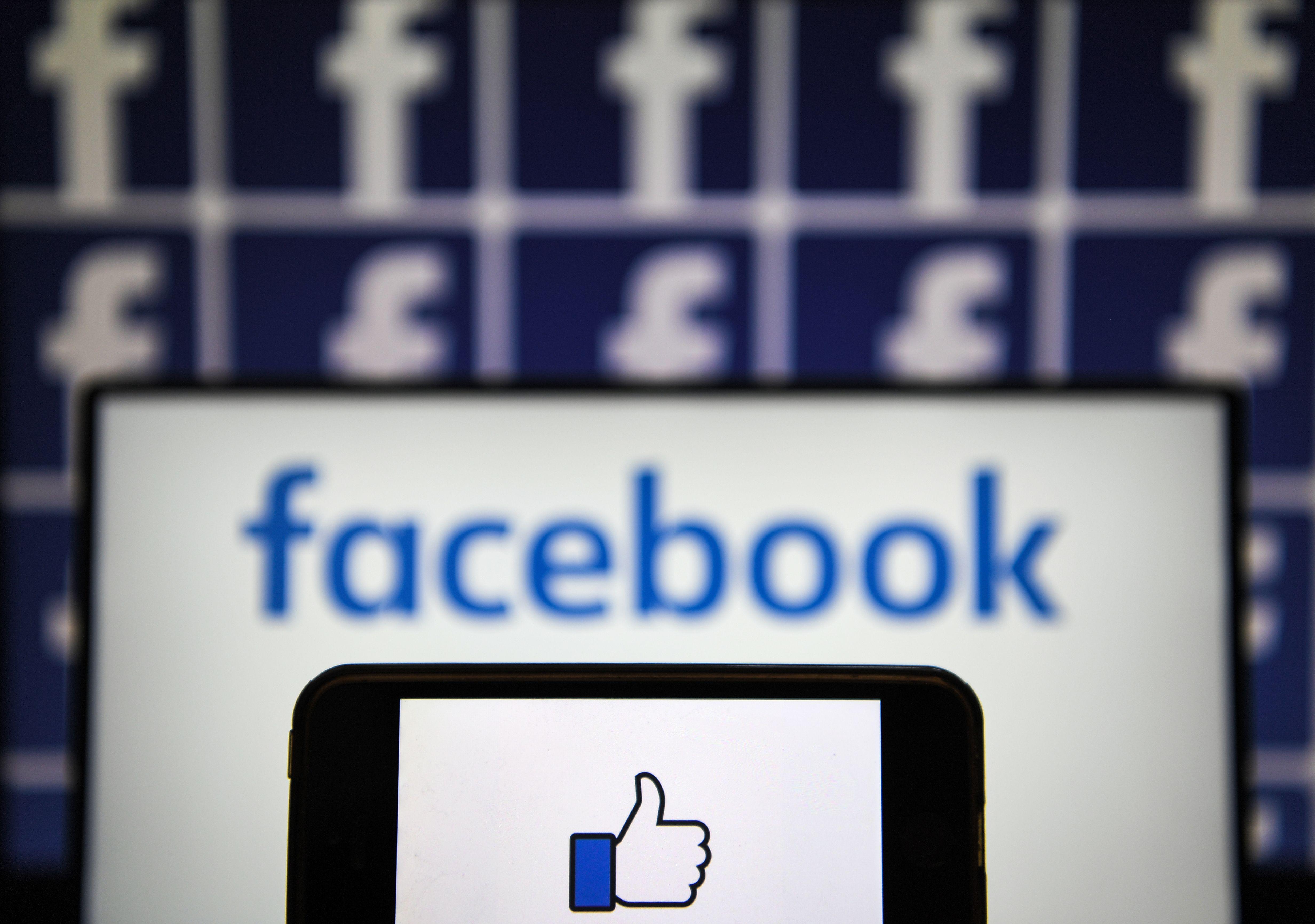 FRANCE-TECHNOLOGY-INTERNET-FACEBOOK-SOCIAL NETWORK-LOGO