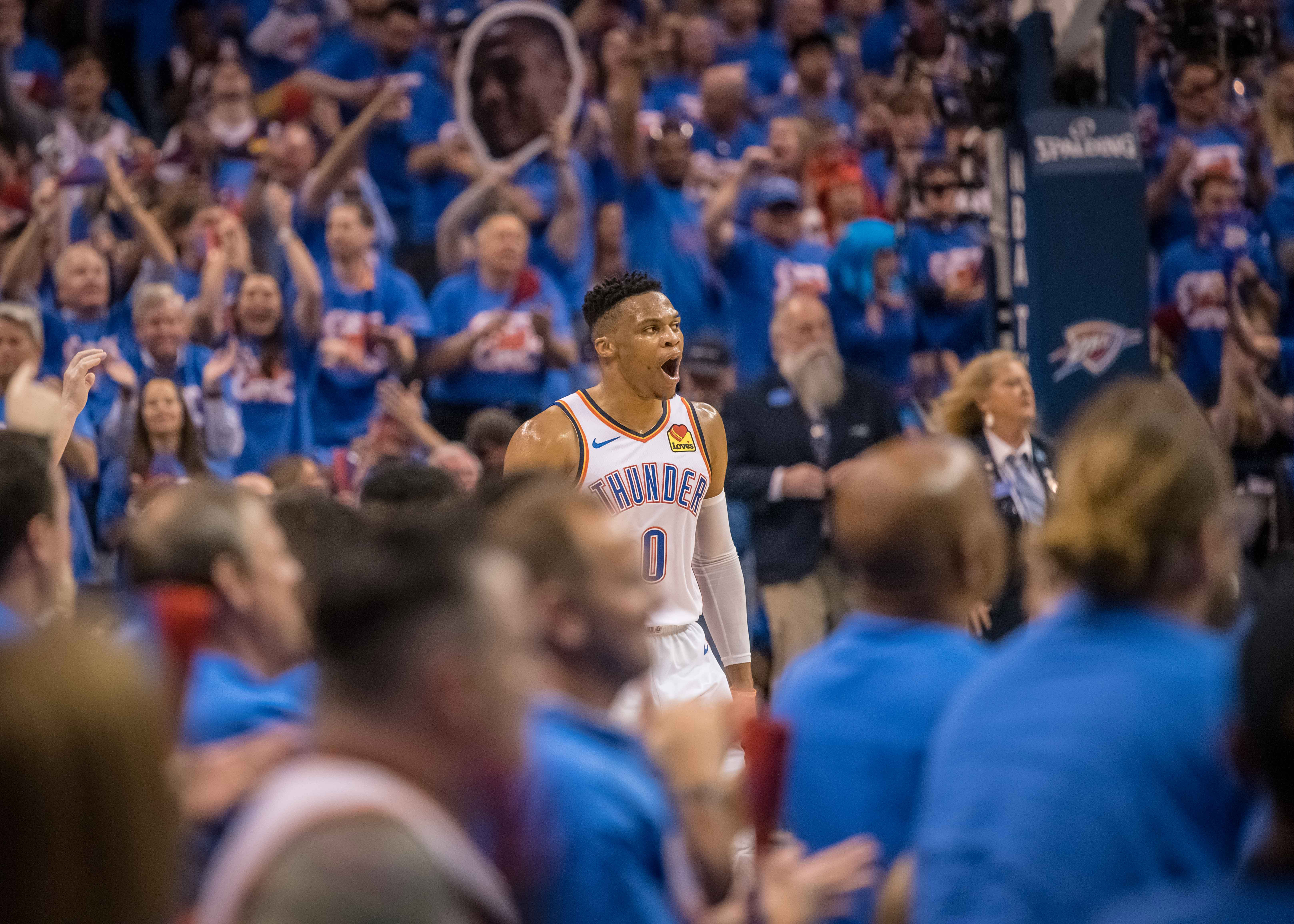 NBA: Playoffs-Portland Trail Blazers at Oklahoma City Thunder