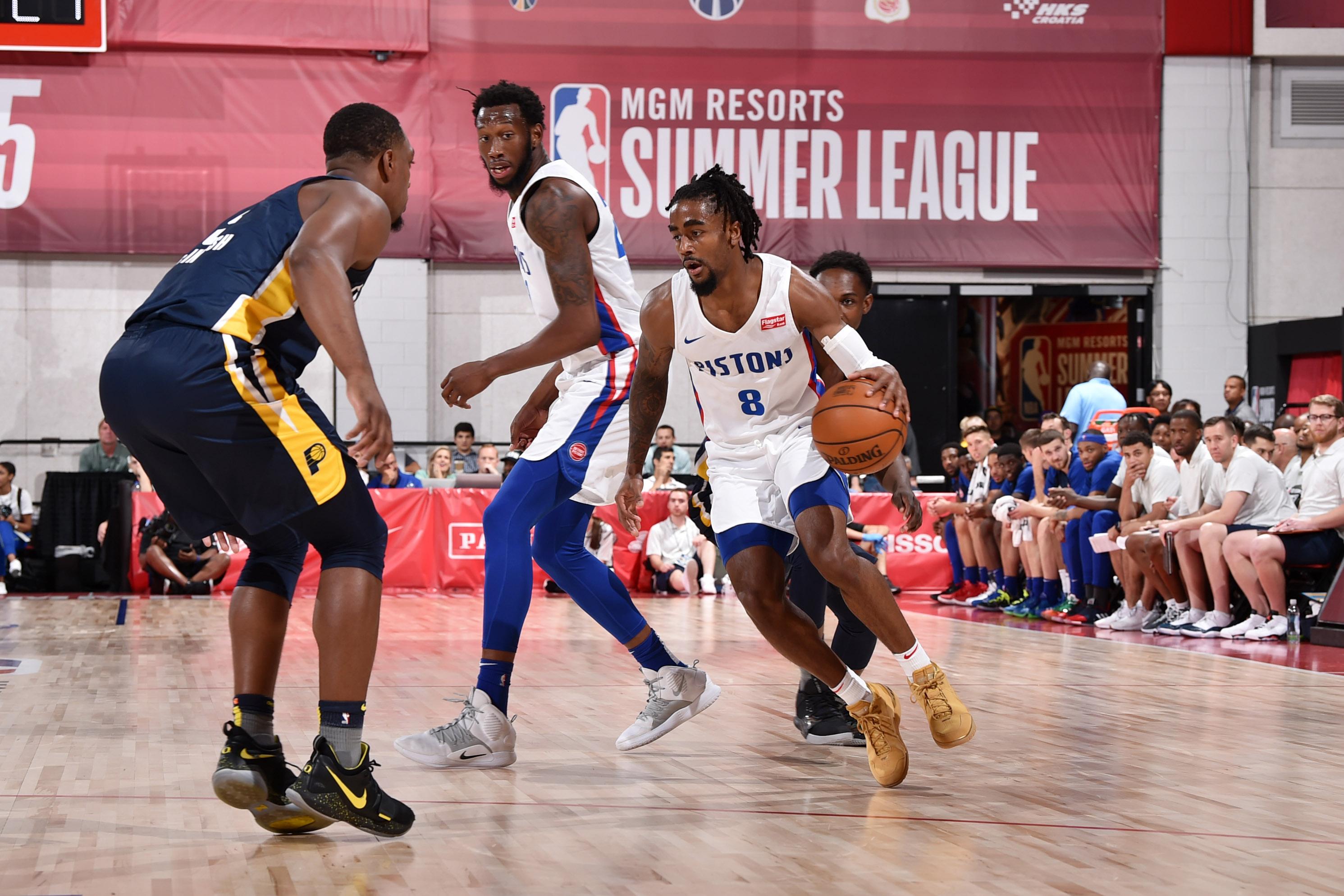 2019 Las Vegas Summer League - Indiana Pacers v Detroit Pistons