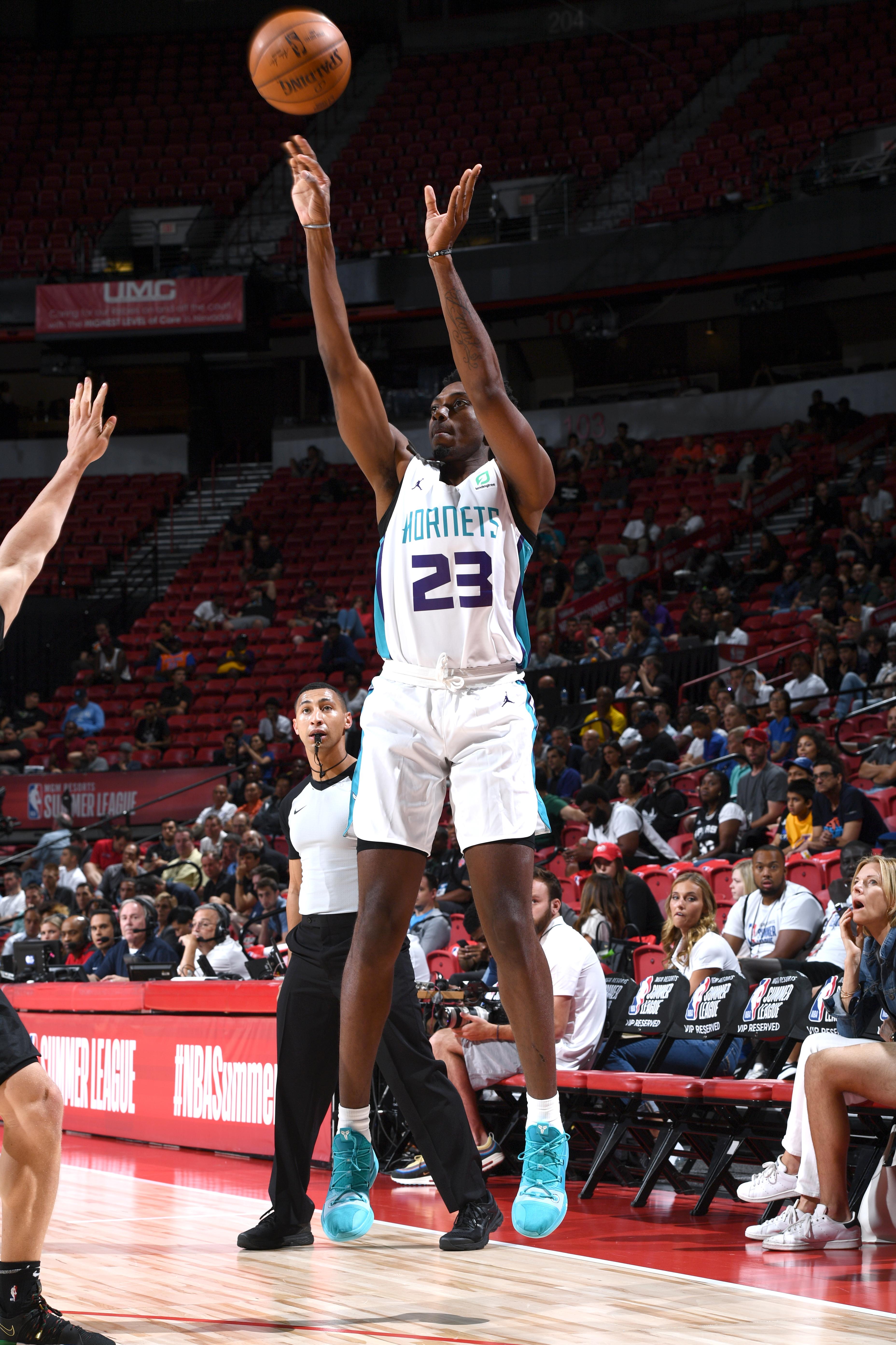 2019 Las Vegas Summer League - Day 3 - San Antonio Spurs v Charlotte Hornets