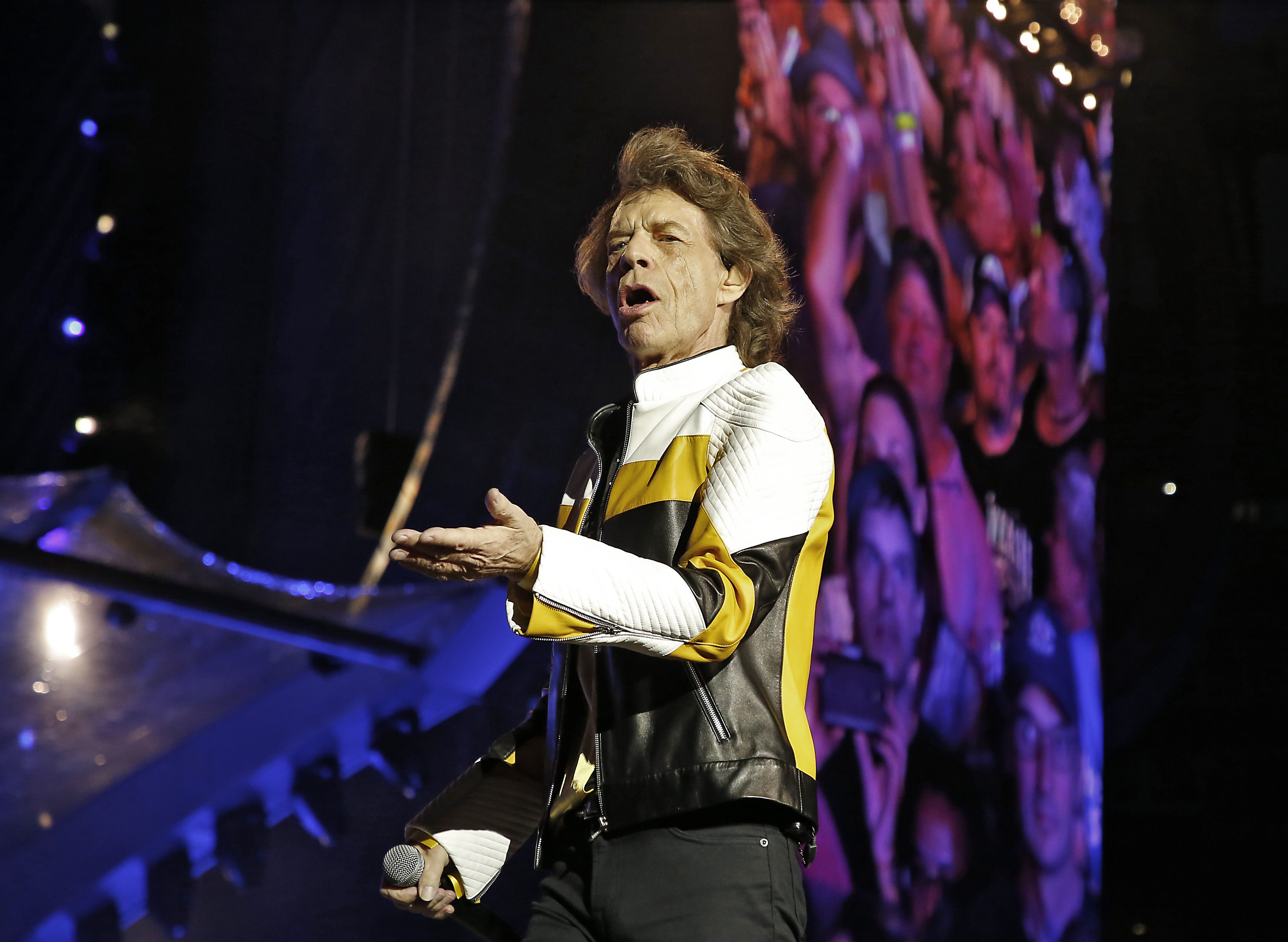The Rolling Stones In Concert At Gillette Stadium