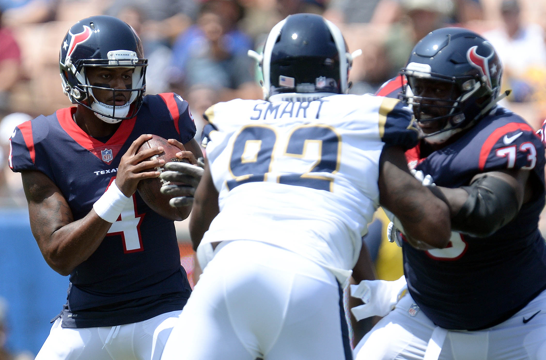 NFL: Houston Texans at Los Angeles Rams