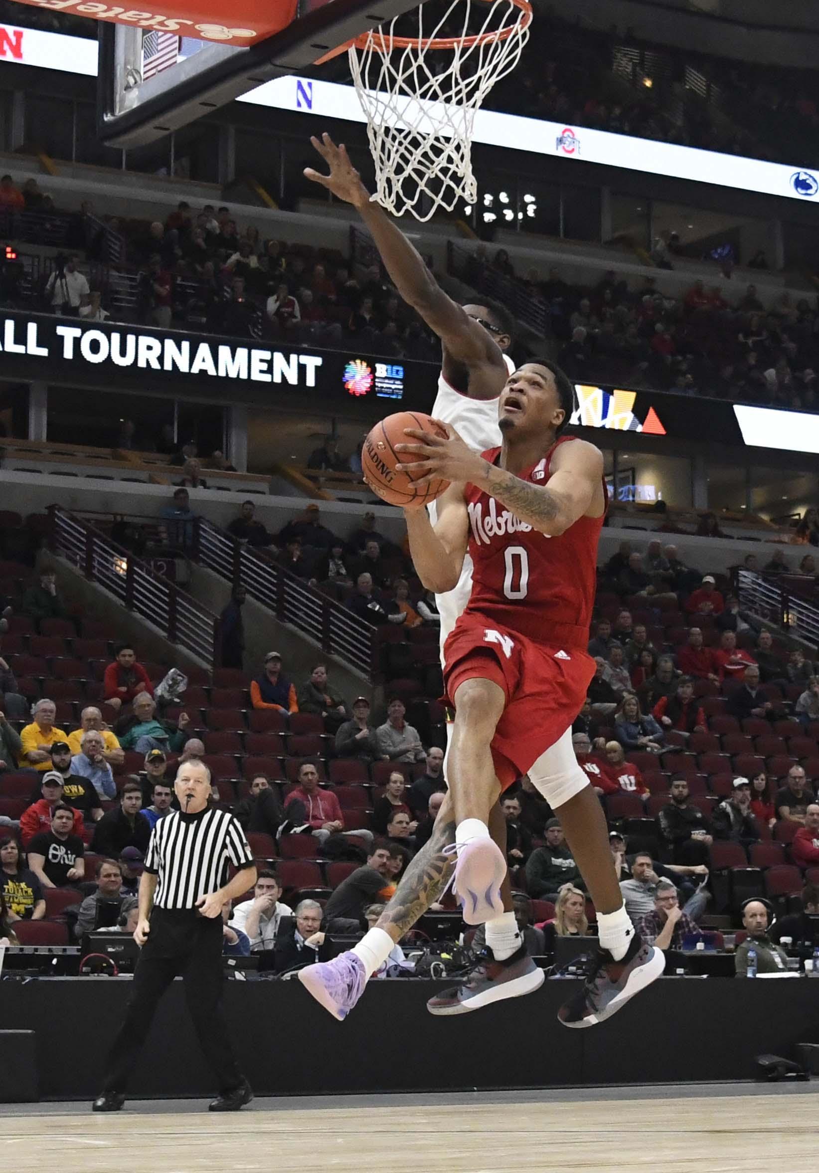 NCAA Basketball: Big Ten Conference Tournament-Nebraska vs Maryland