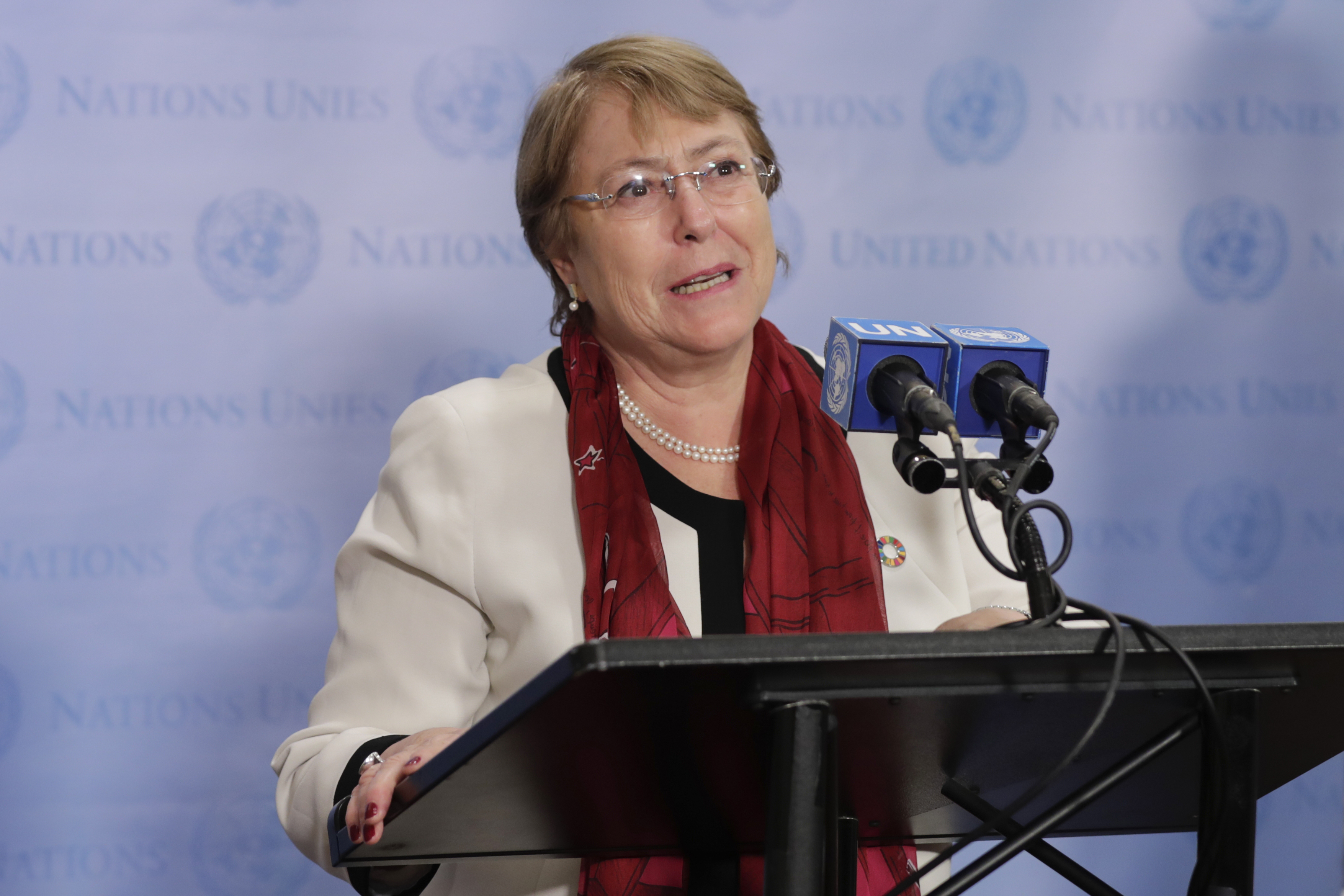 """UN human rights chief is """"deeply shocked"""" by US treatment of migrants"""