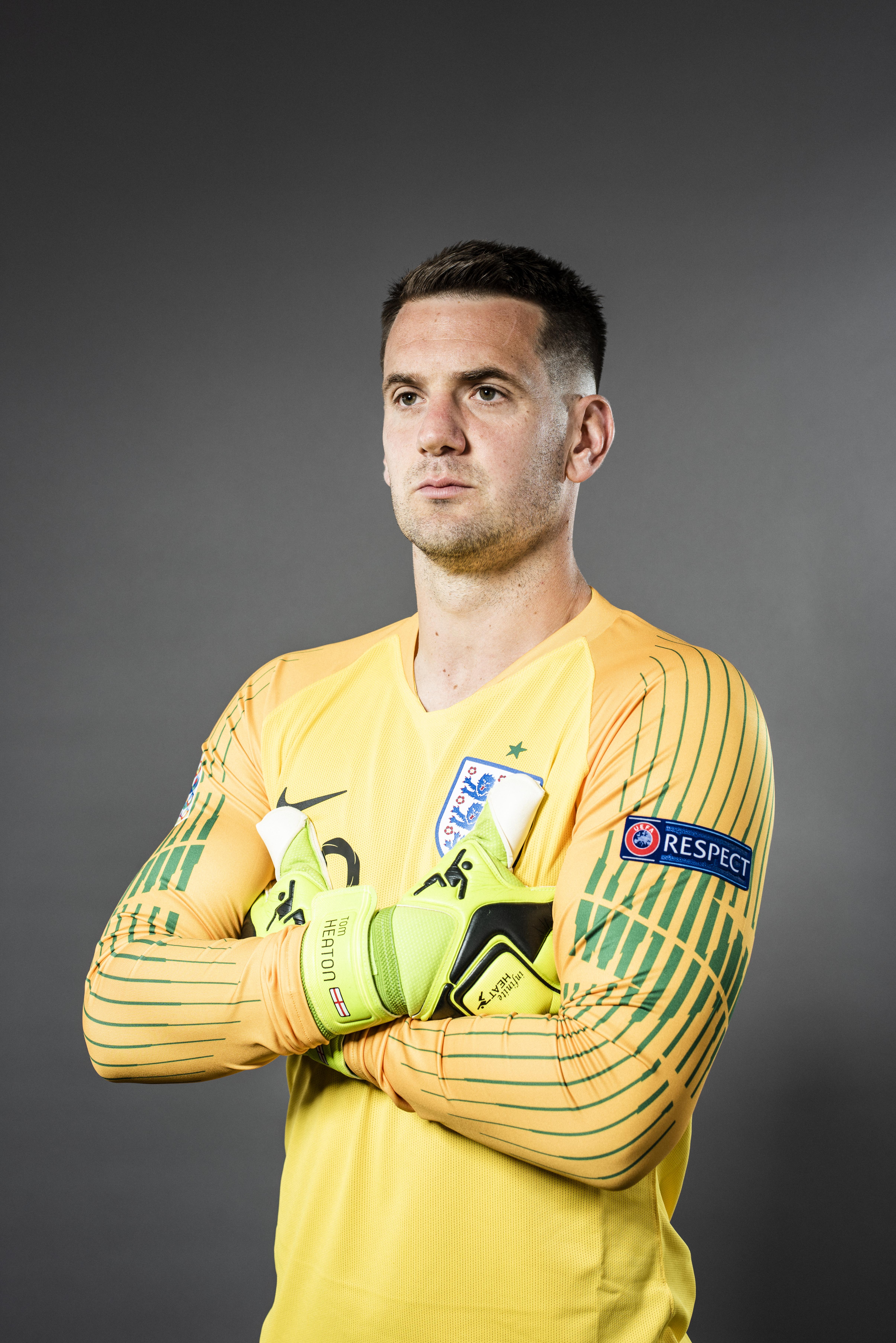 UEFA Nations League Finals Portrait Shoot - England