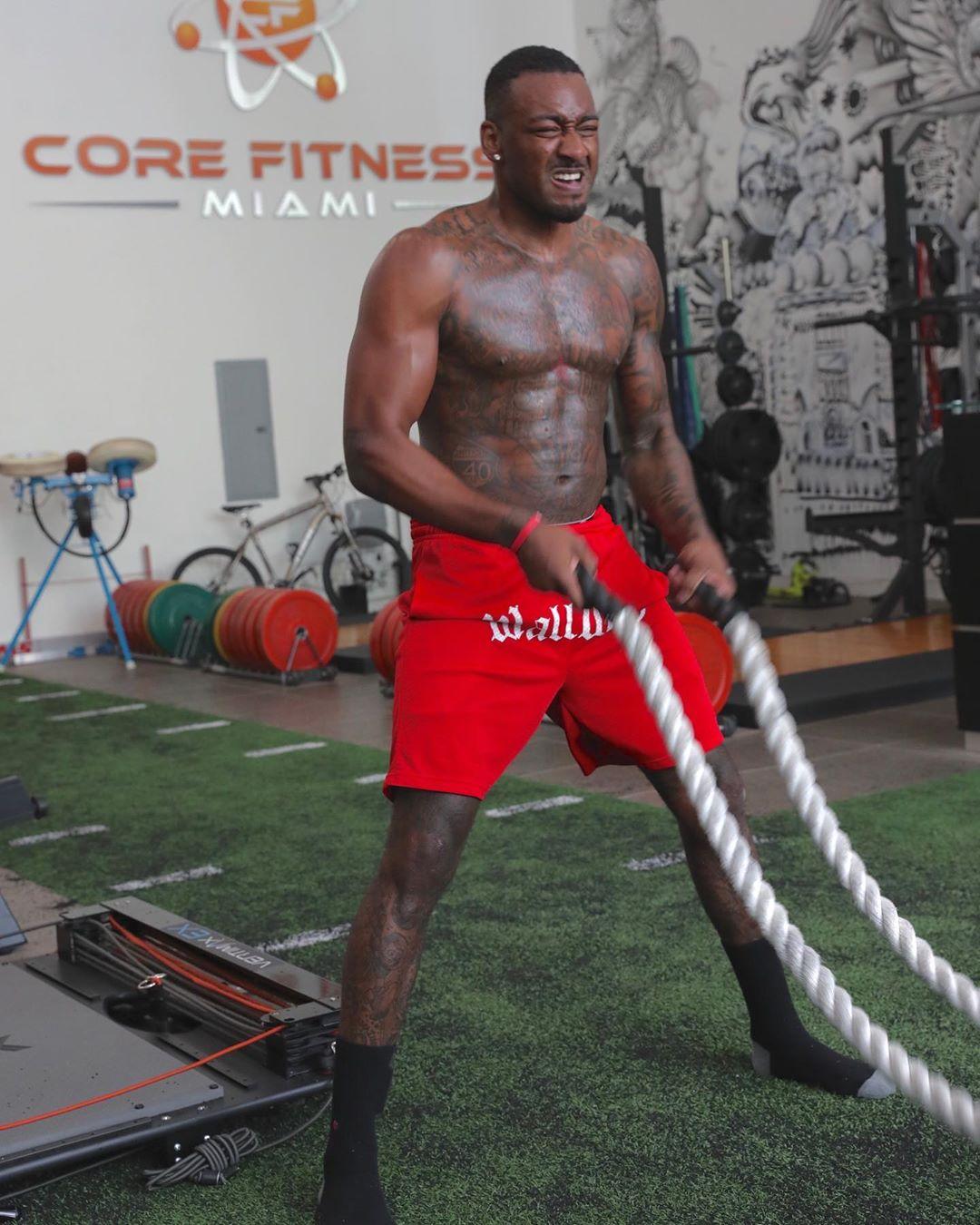 John Wall workout