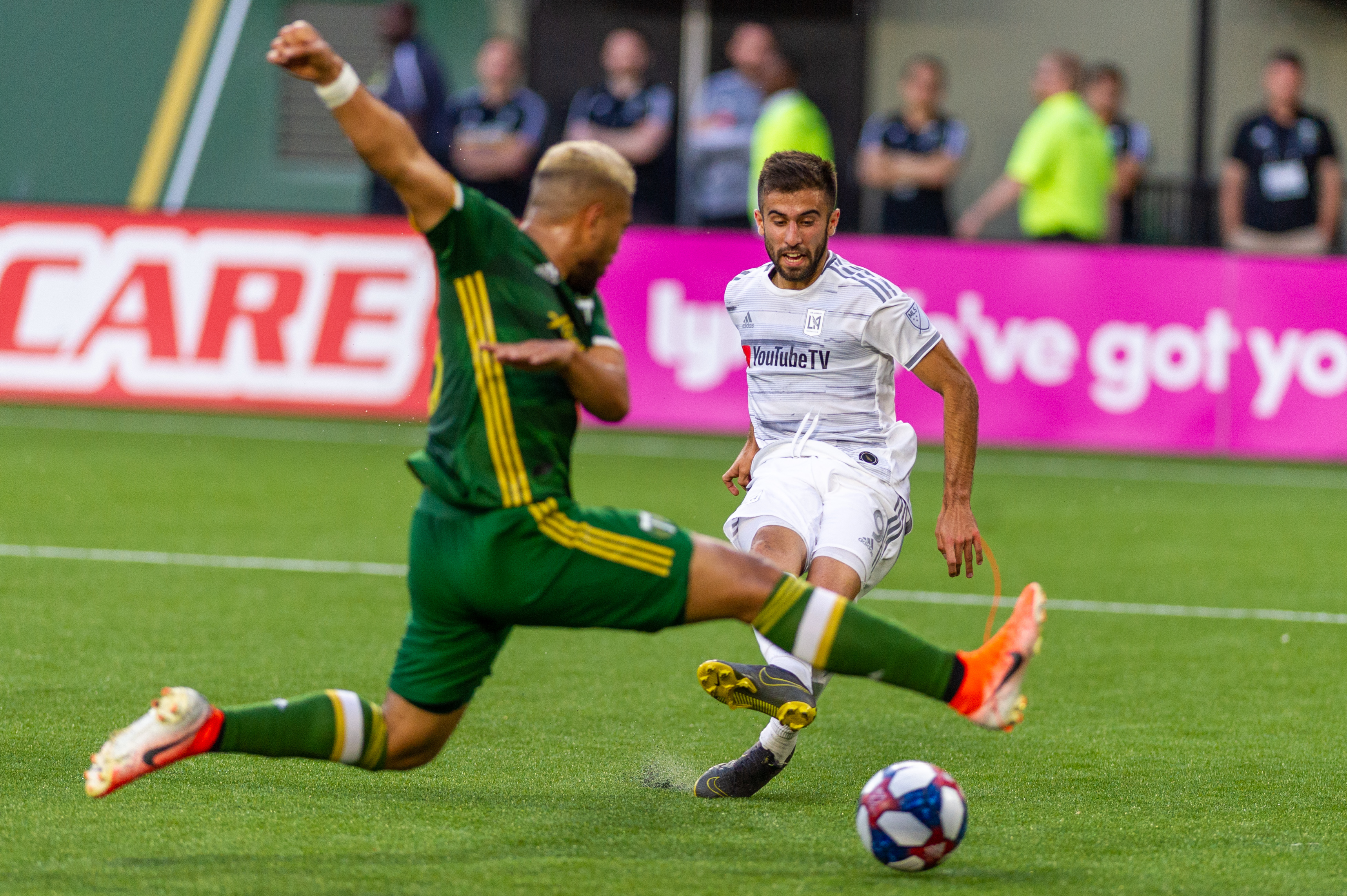SOCCER: JUN 01 MLS - LAFC at Portland Timbers
