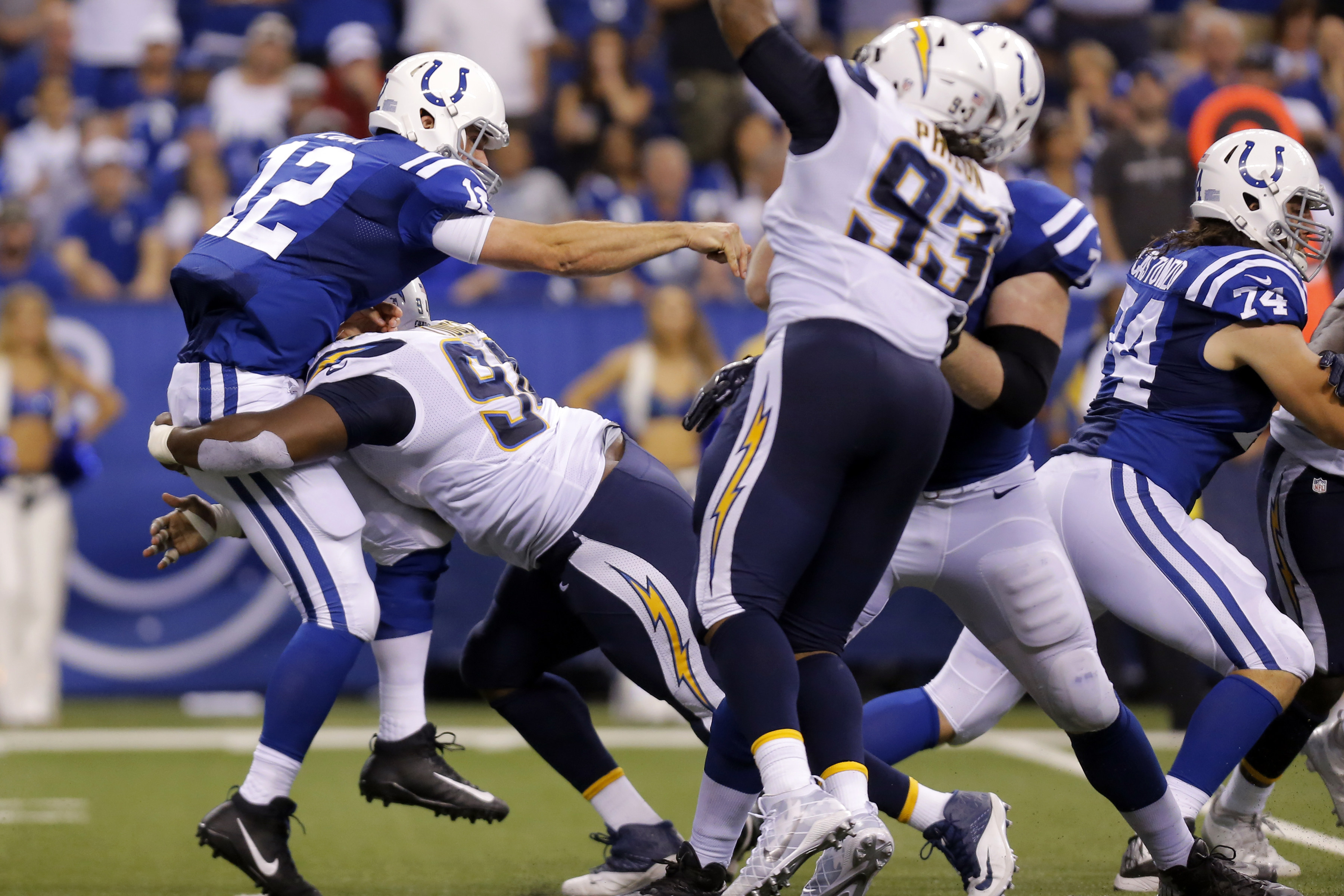 NFL: SEP 25 Chargers at Colts