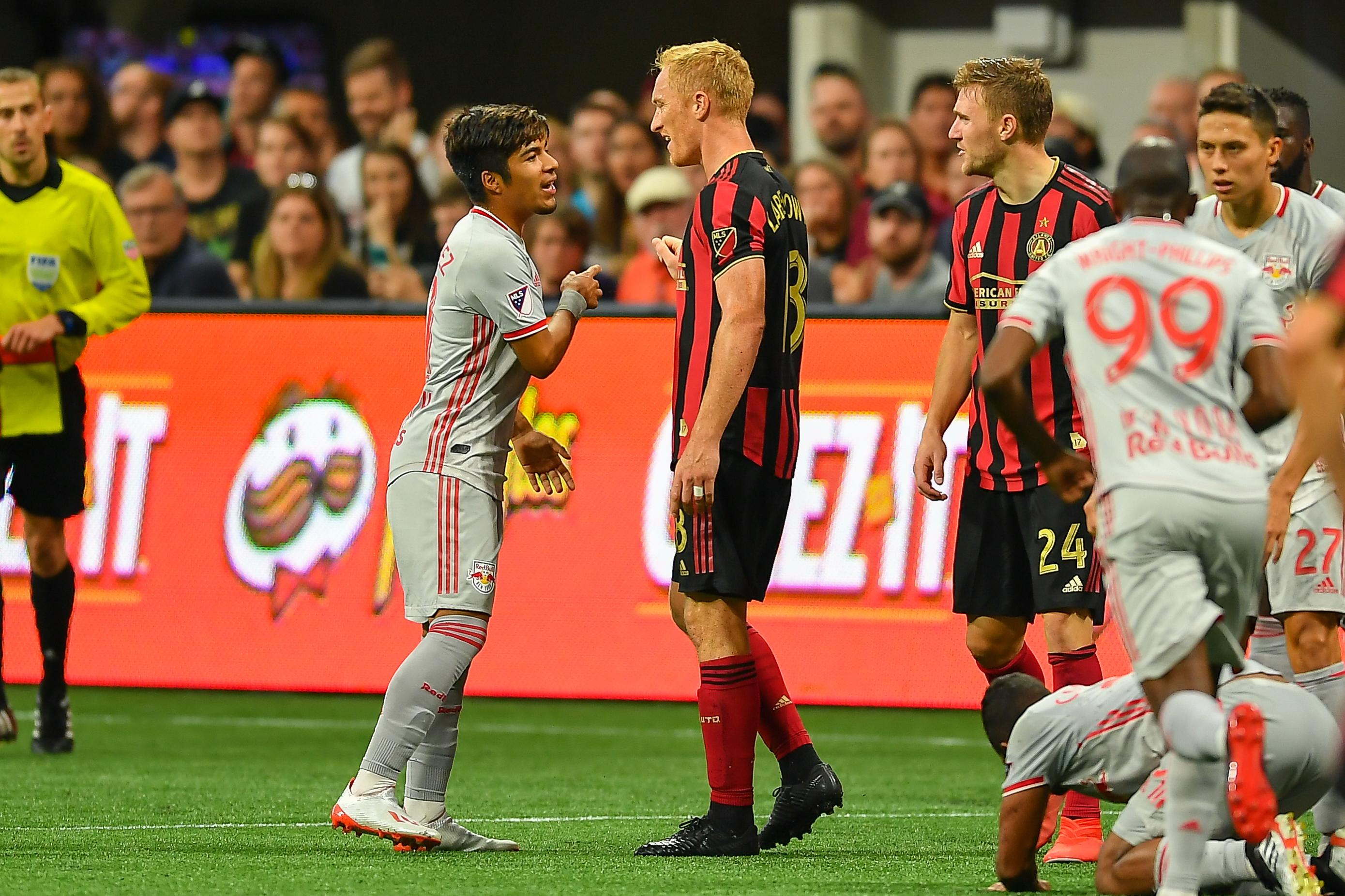 SOCCER: JUL 07 MLS - New York Red Bulls at Atlanta United FC