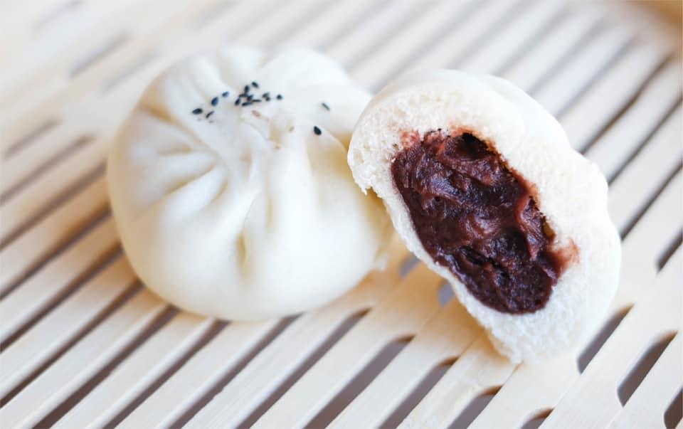 Bao'd Up's red bean bao