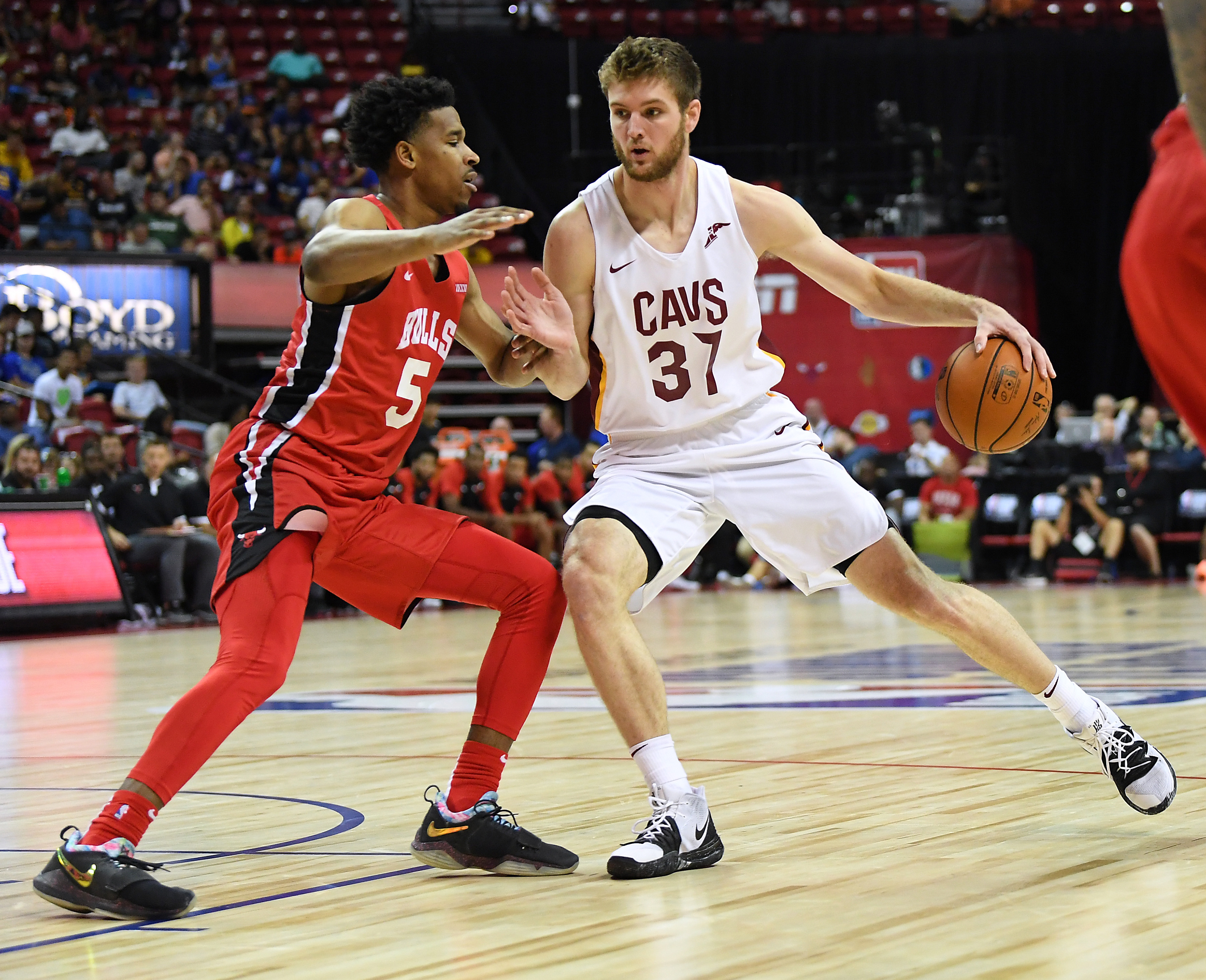 NBA: Summer League-Chicago Bulls at Cleveland Cavaliers