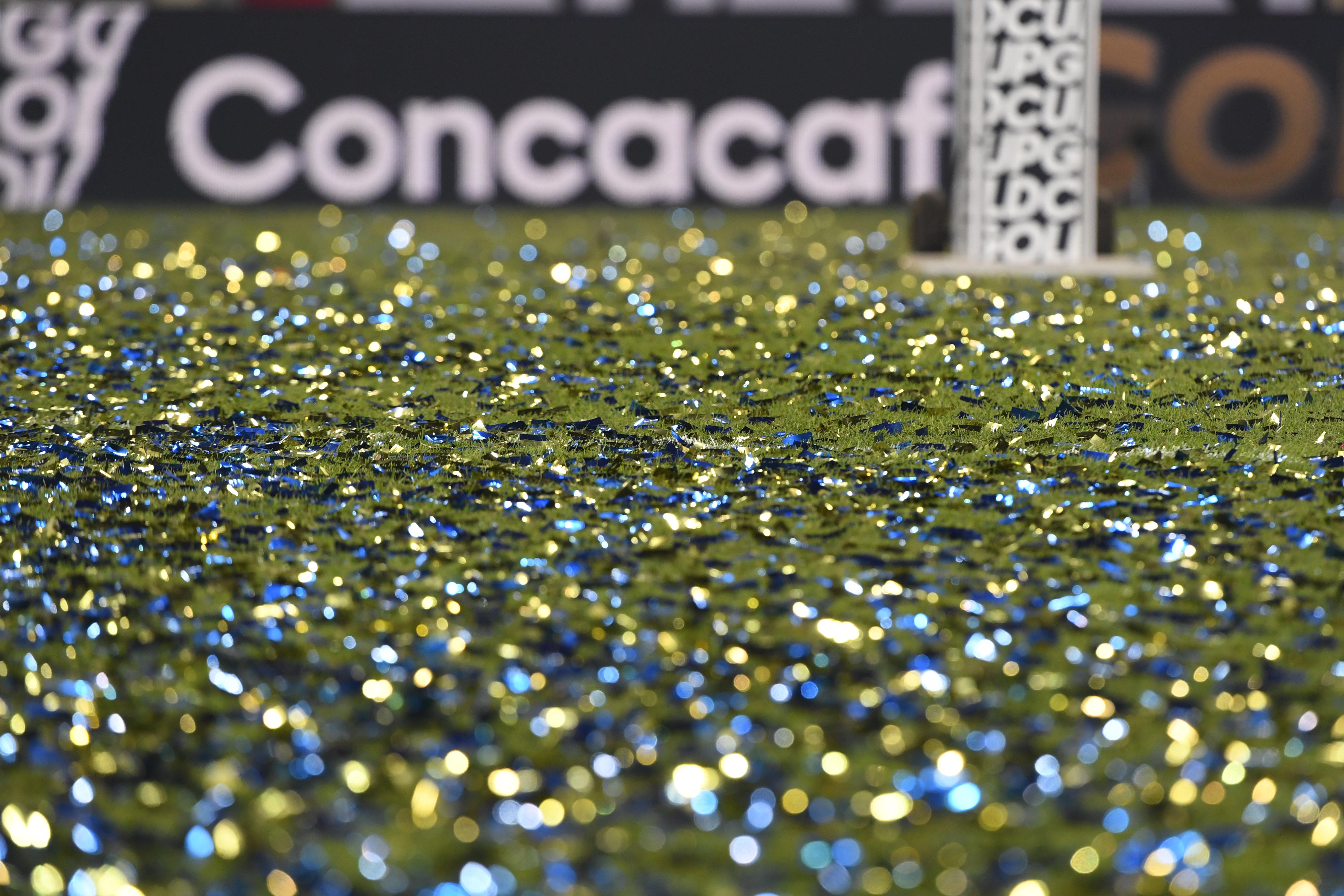 足球:CONCACAF金杯-墨西哥在美国