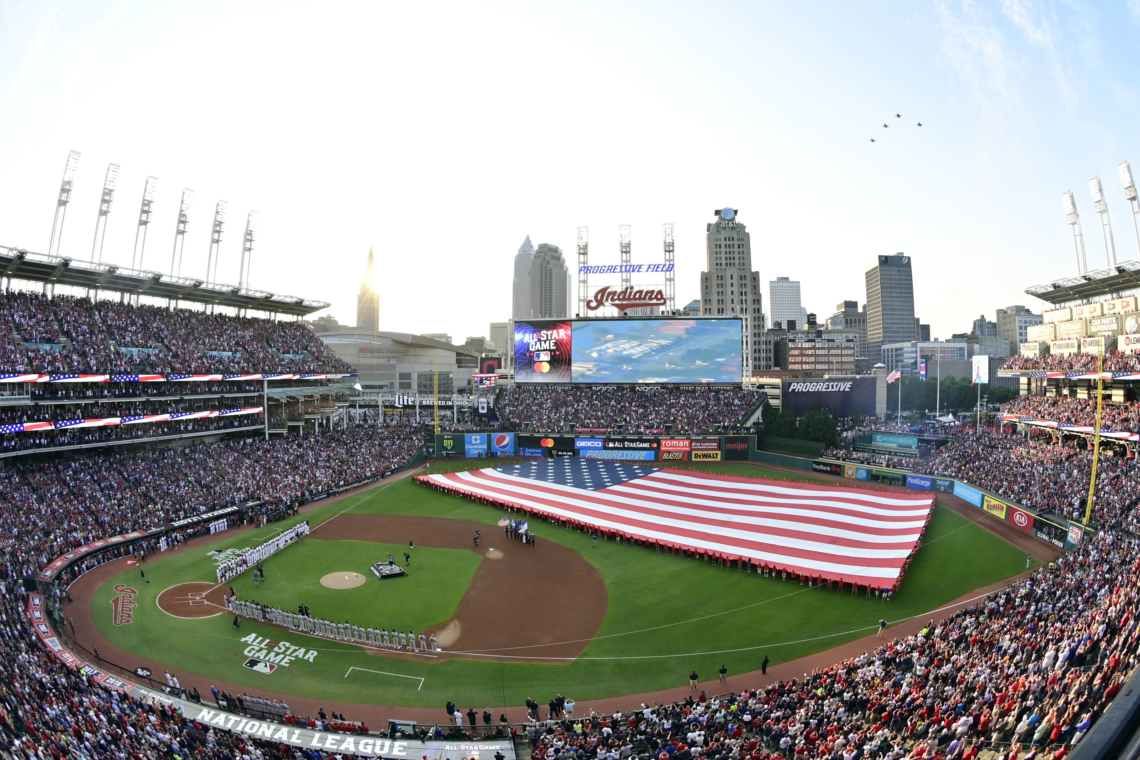 MLB: All Star Game-National League at American League