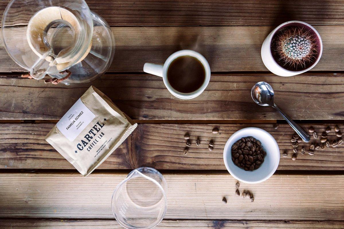Coffee at Cartel Coffee Lab