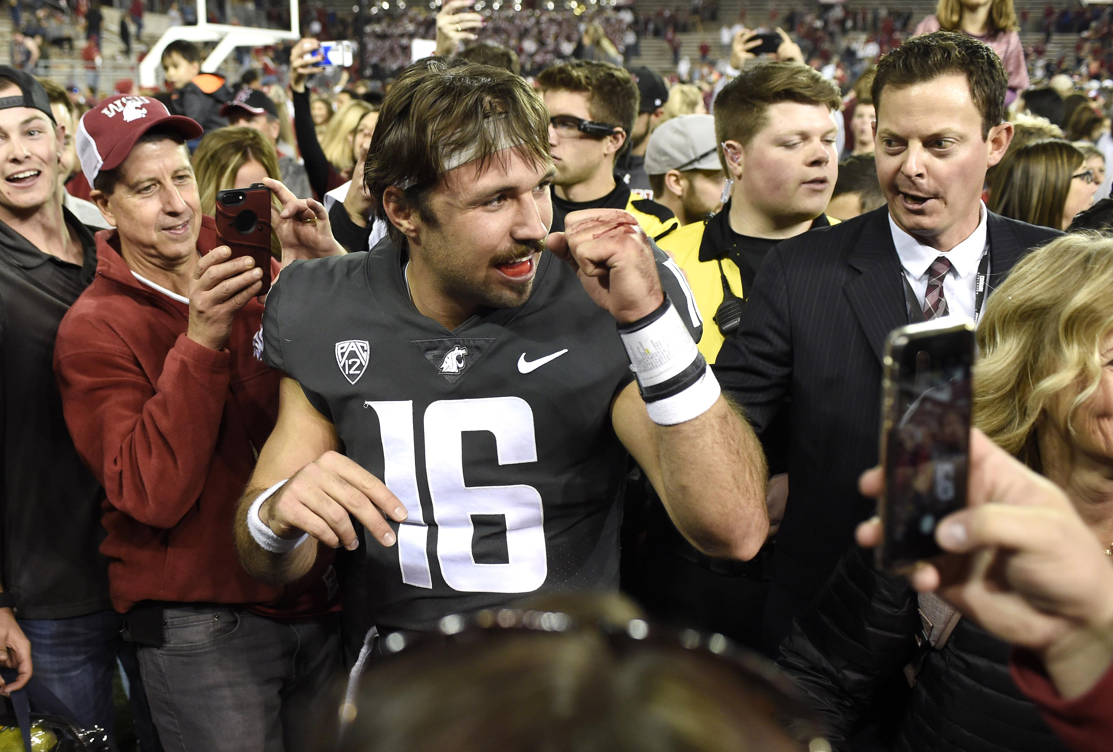 NCAA Football: Oregon at Washington State