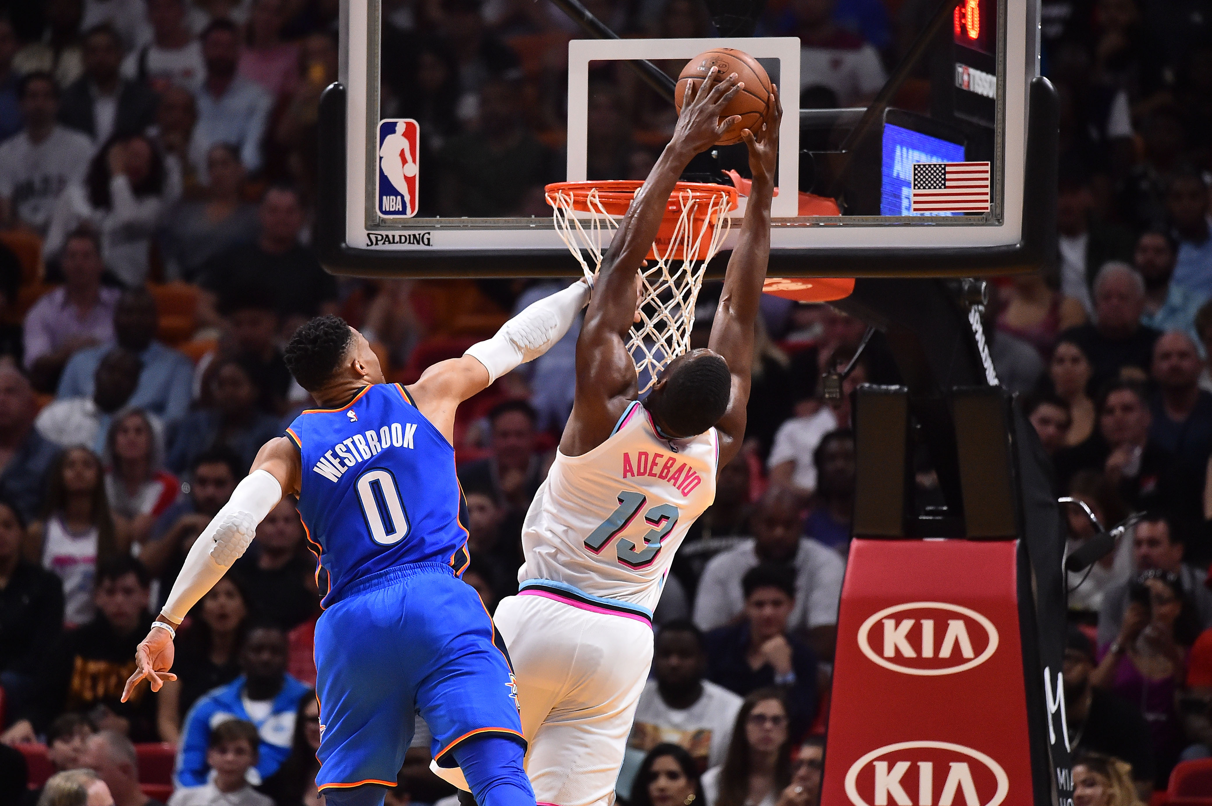 NBA: Oklahoma City Thunder at Miami Heat