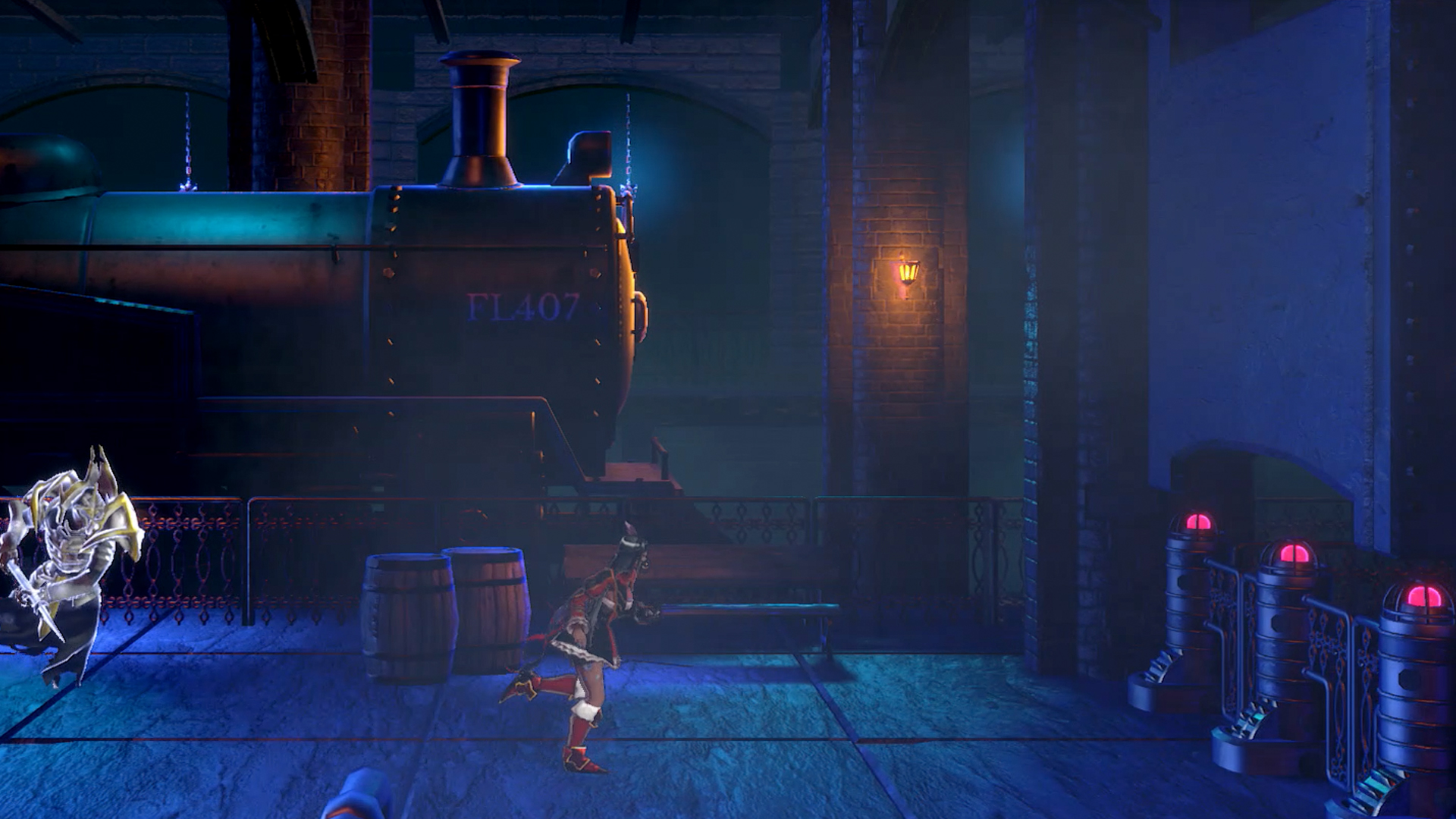 Bloodstained: Ritual of the Night Bridge of Evil map