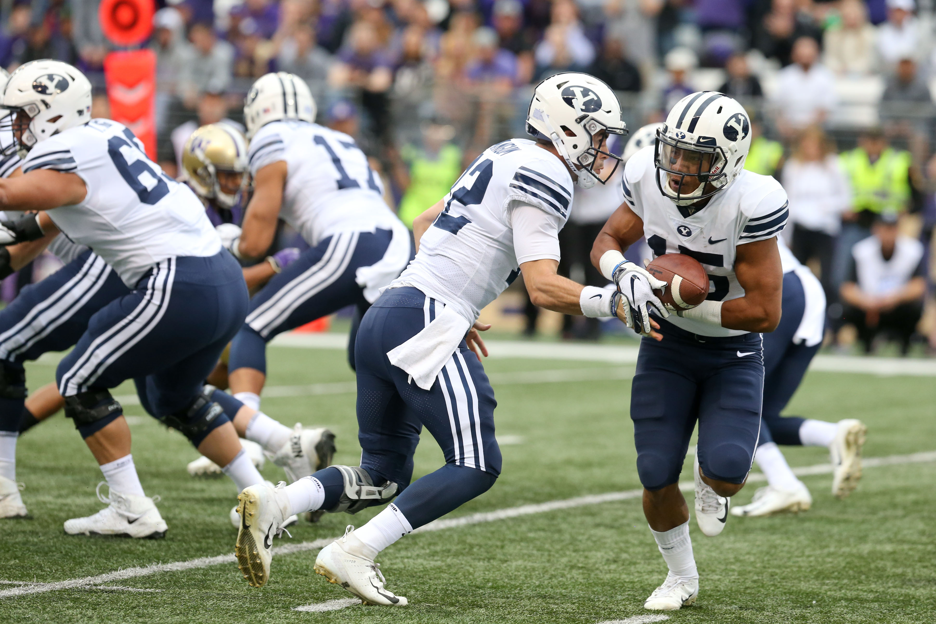 COLLEGE FOOTBALL: SEP 29 BYU at Washington