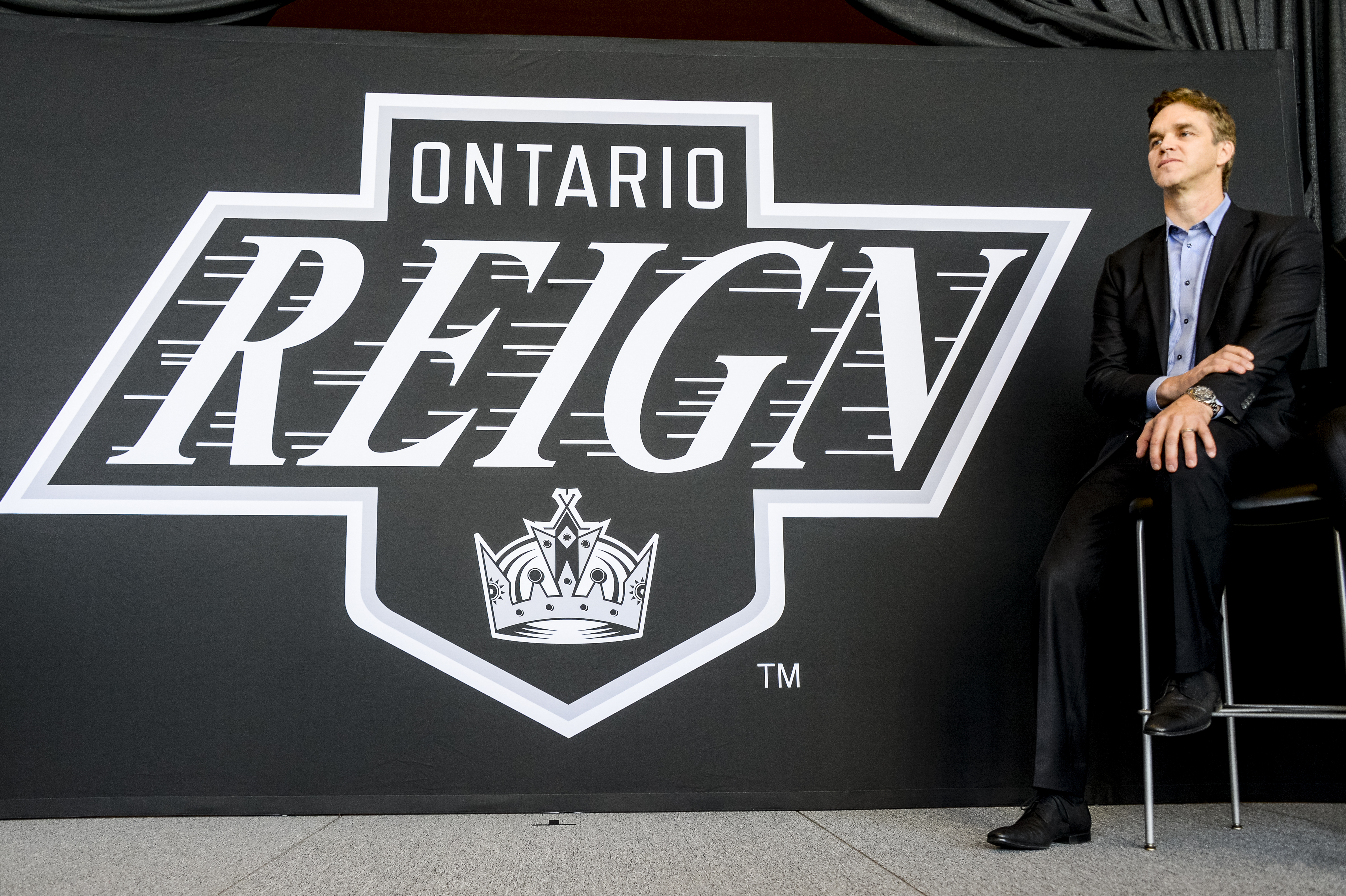 Ontario Reign Press Conference