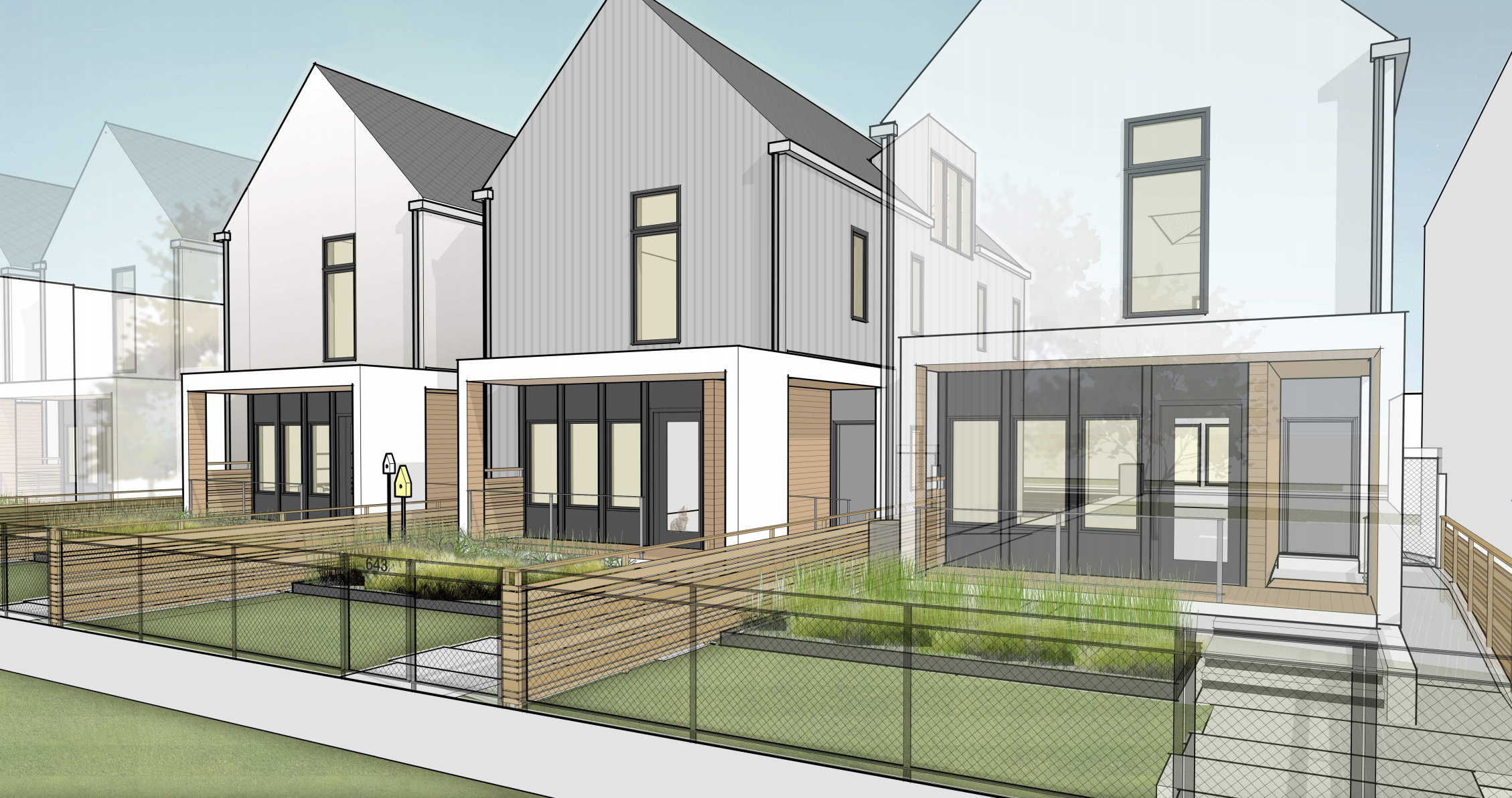 After design competition, architect will get to build vision for new Chicago two-flat