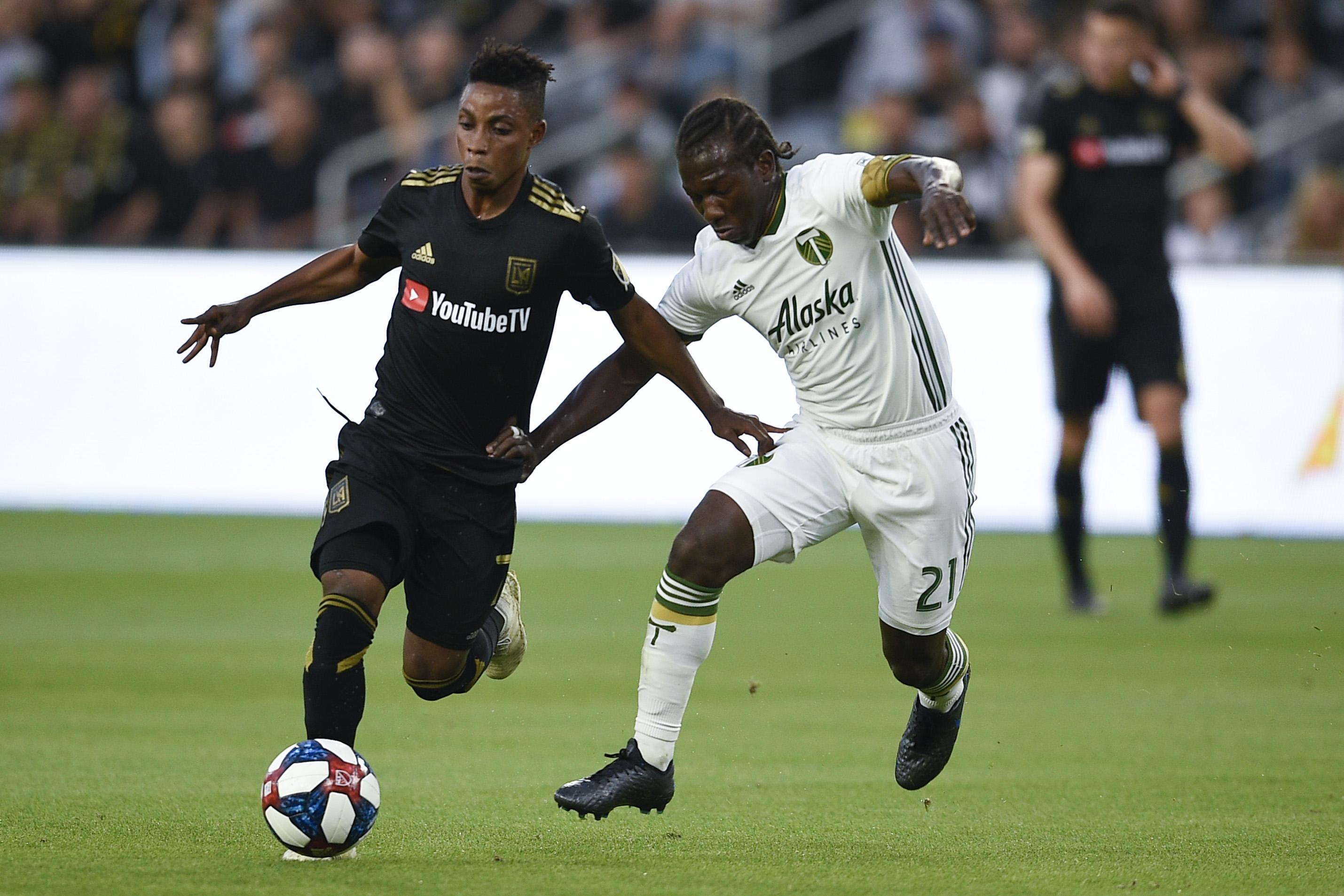 MLS: U.S. Open Cup-Portland Timbers at LAFC