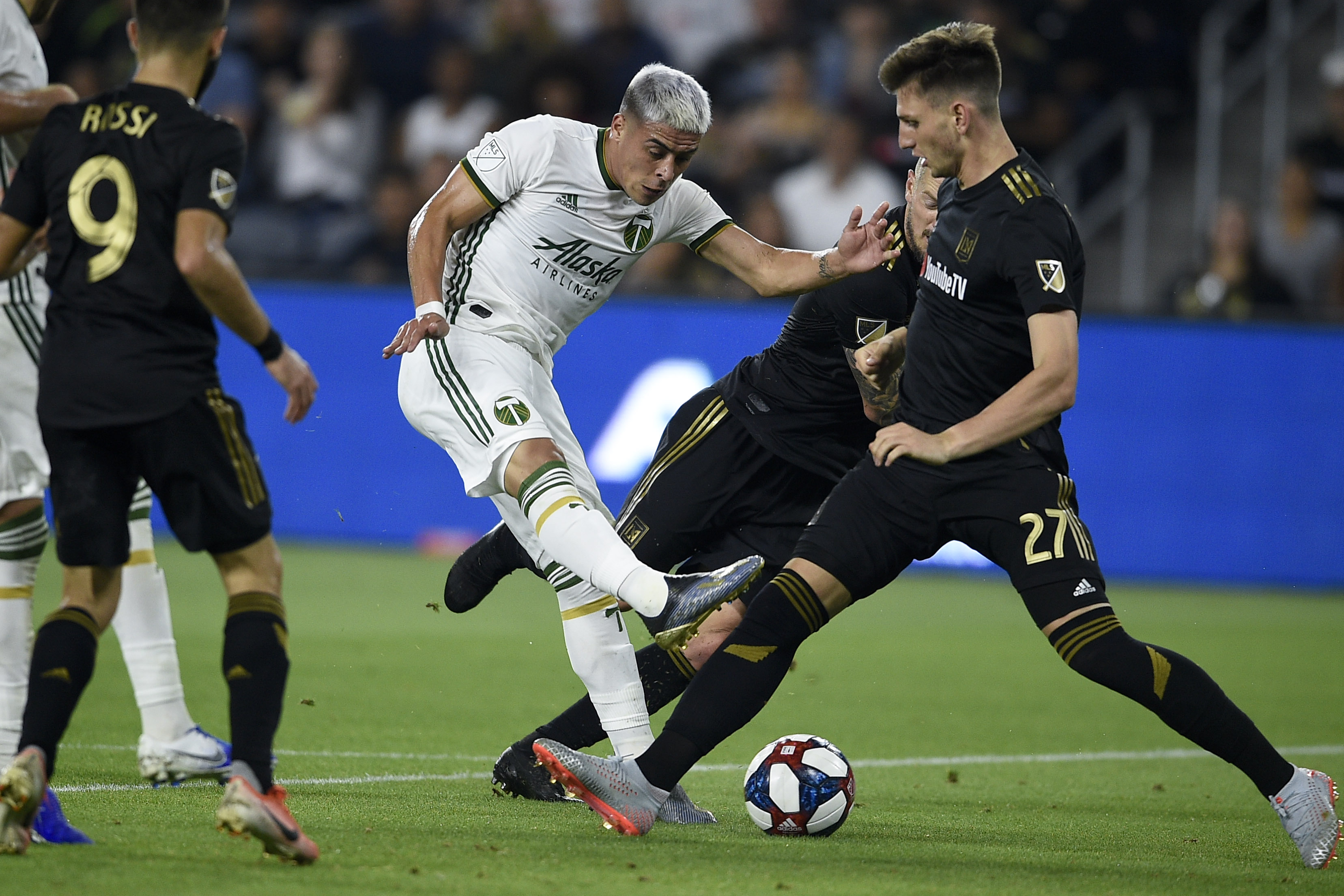 MLS: U.S. Open Cup-Portland Timbers at LAFC