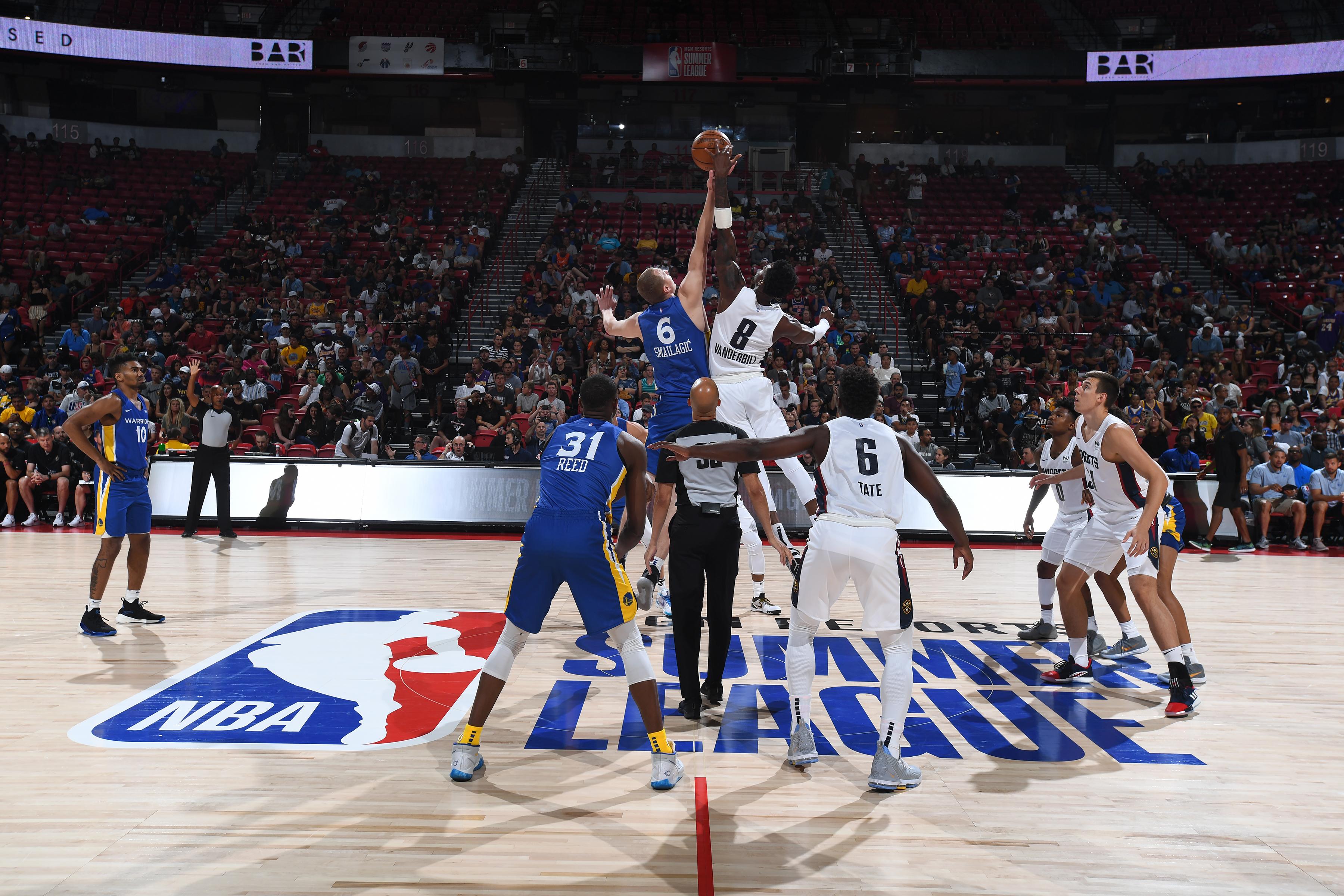2019 Las Vegas Summer League - Day 6 - Golden State Warriors v Denver Nuggets
