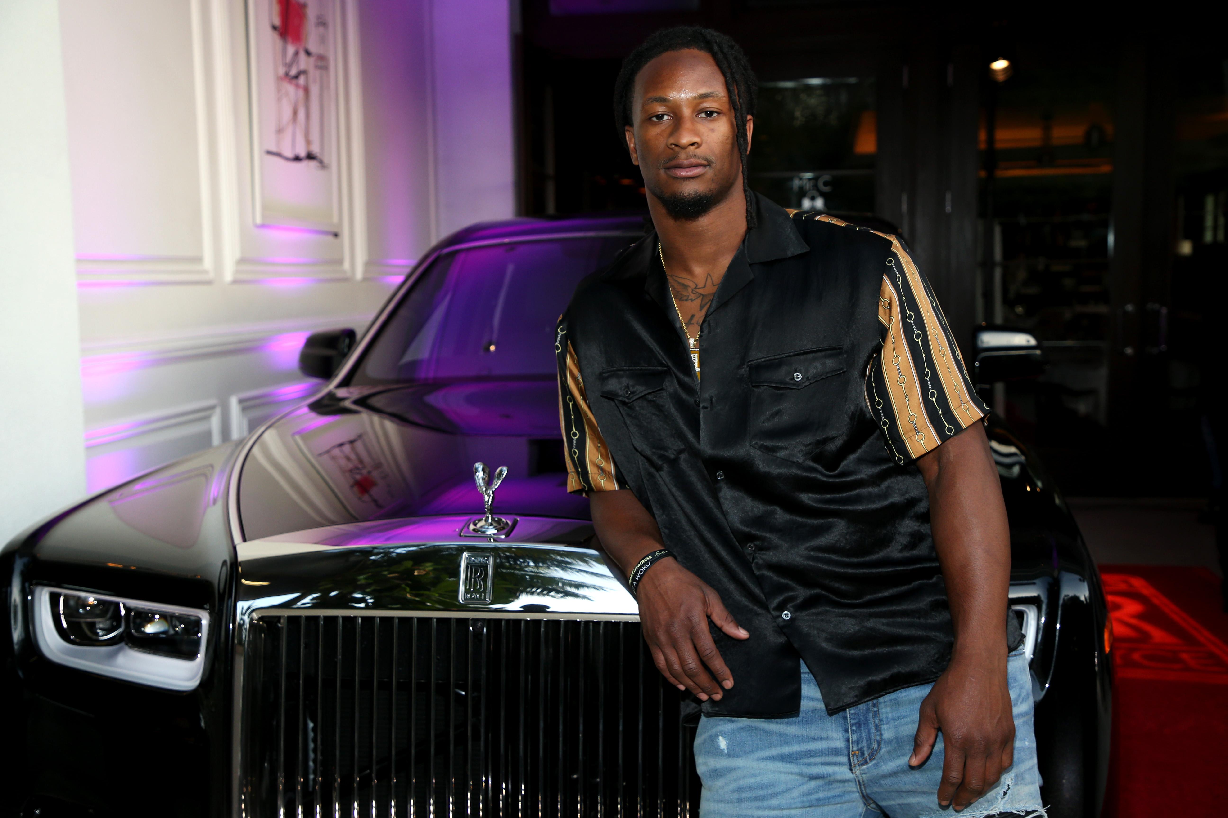 Haute Living And Rolls Royce Celebrate Todd Gurley Cover Launch