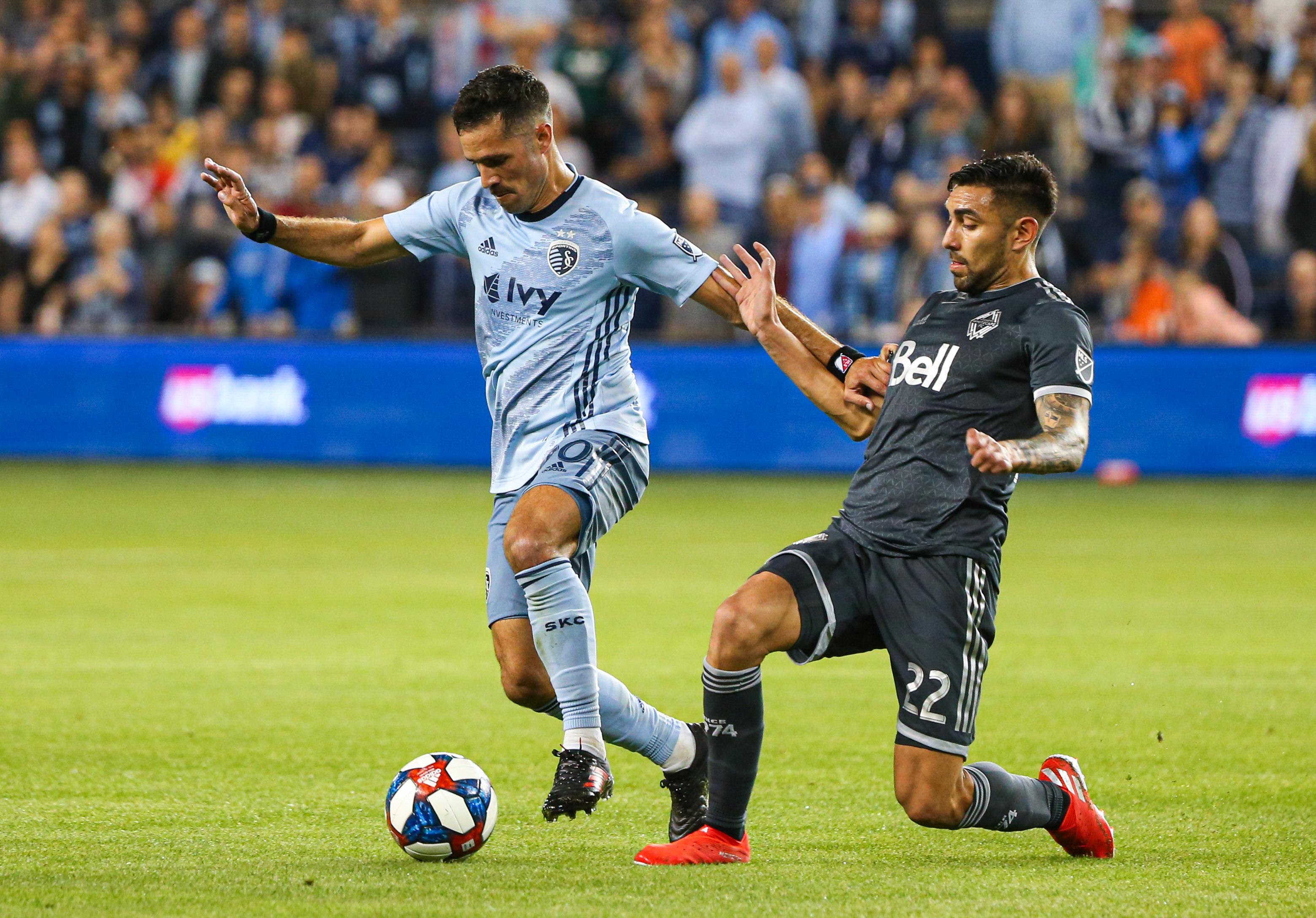 MLS: Vancouver Whitecaps FC at Sporting Kansas City