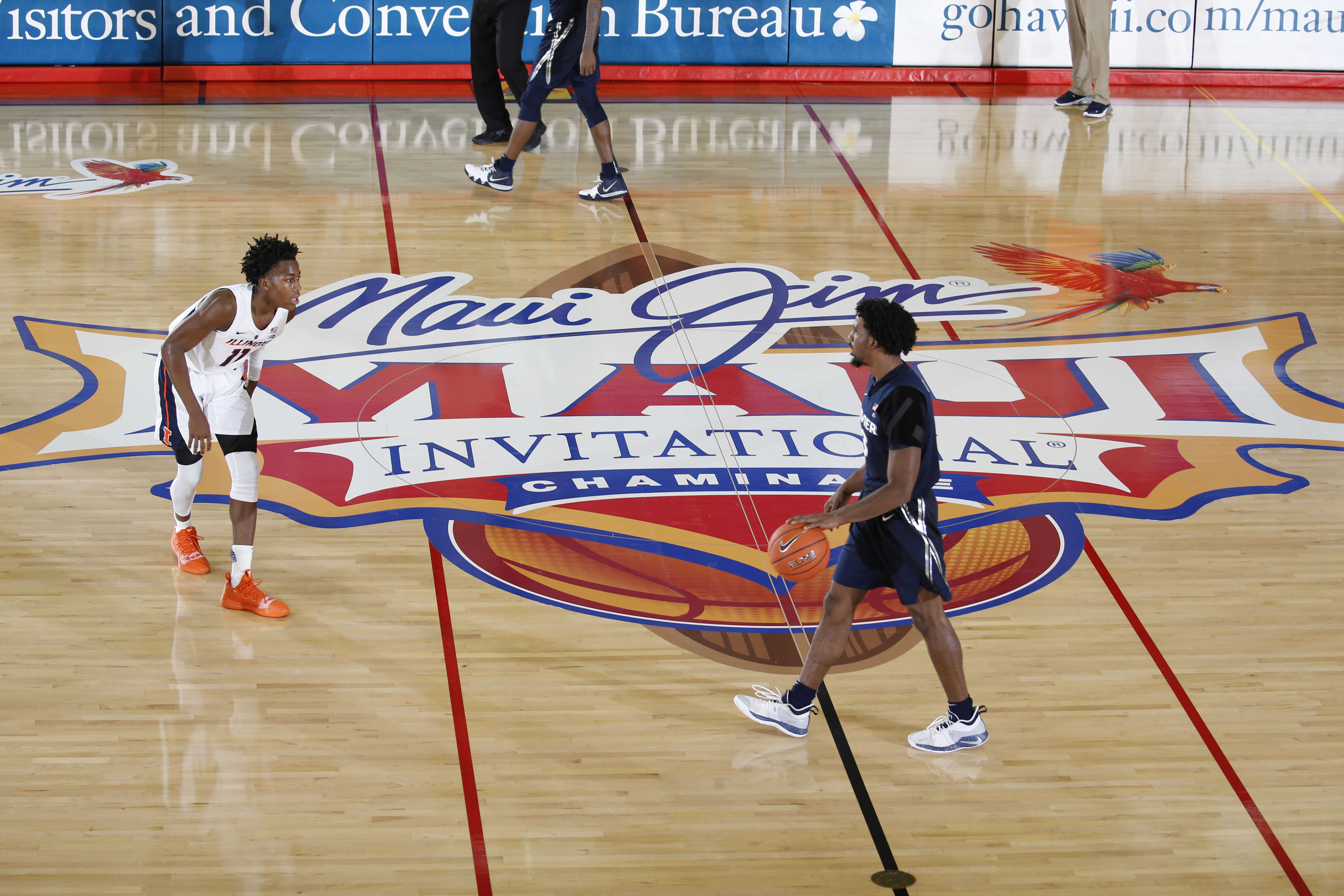 NCAA Basketball: Maui Invitational-Xavier at Illinois