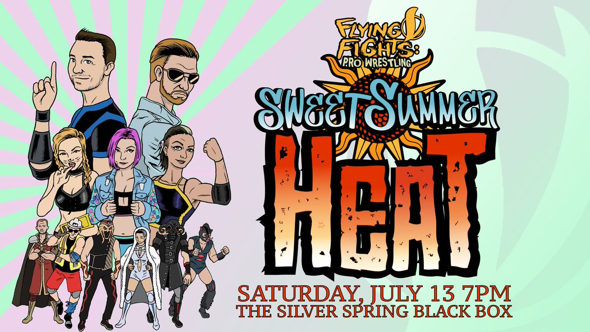 Poster for Flying V Fights Sweet Summer Heat