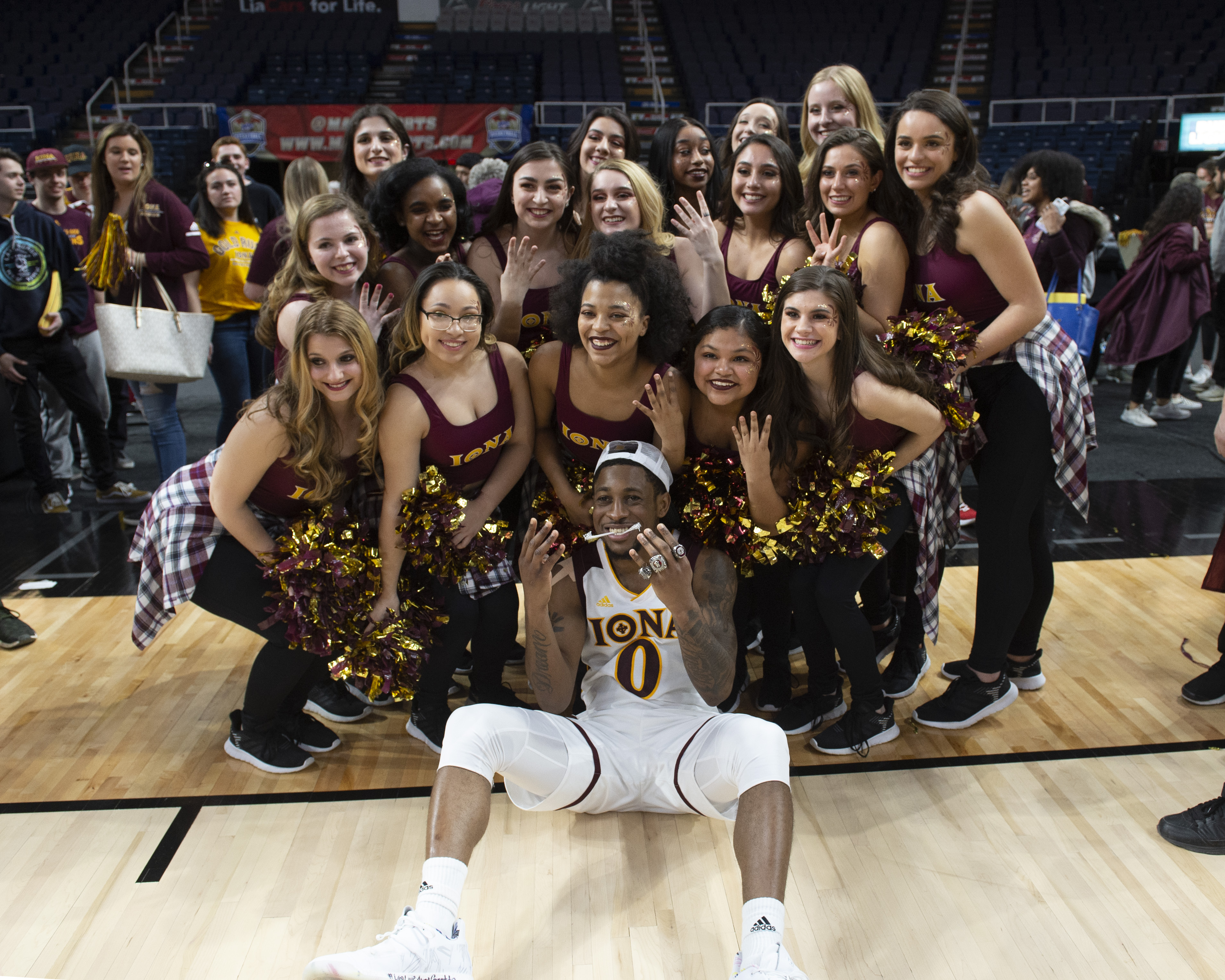 COLLEGE BASKETBALL: MAR 11 MAAC Conference Tournament - Monmouth v Iona