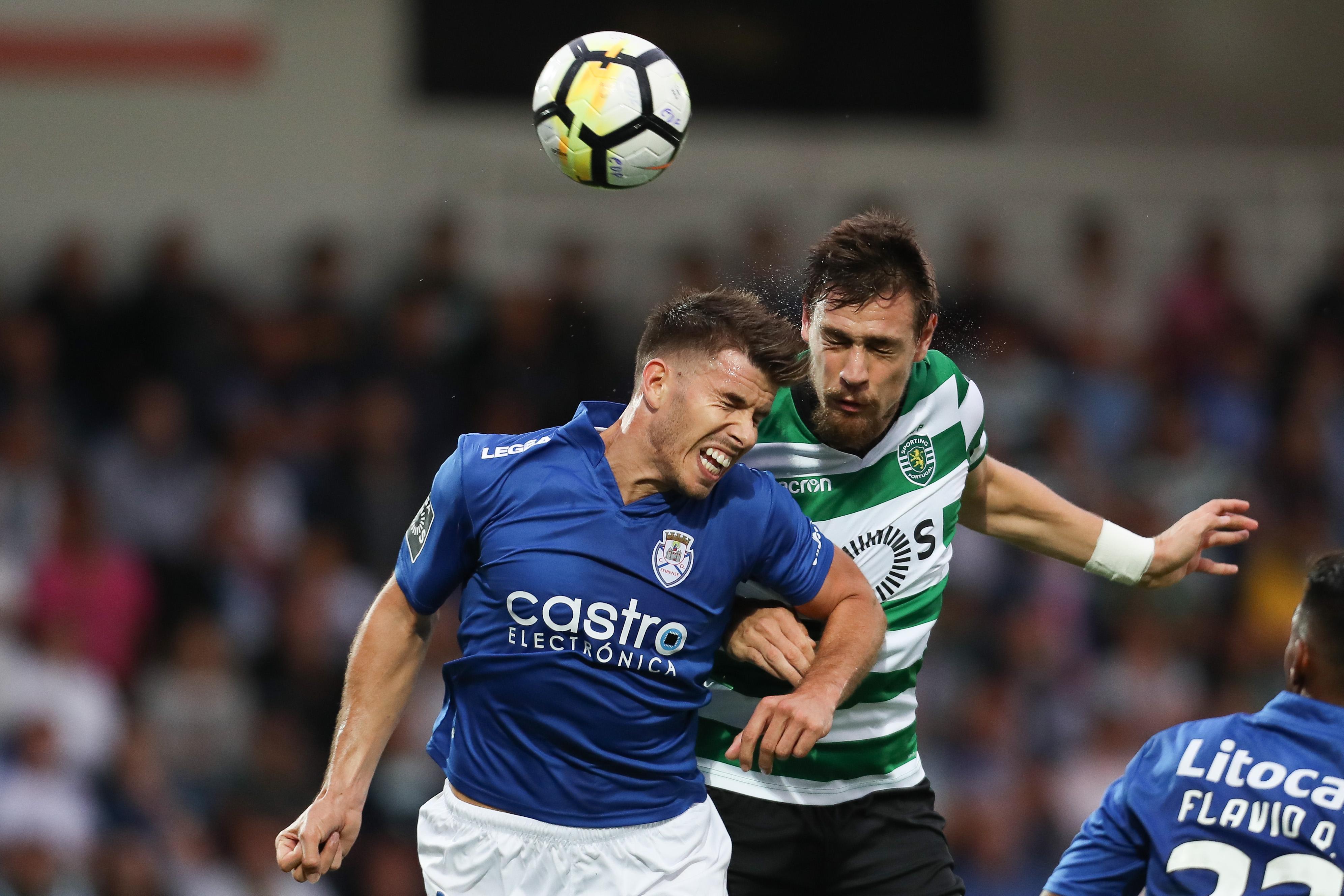 CD Feirense v Sporting CP - Premier League 2017-18