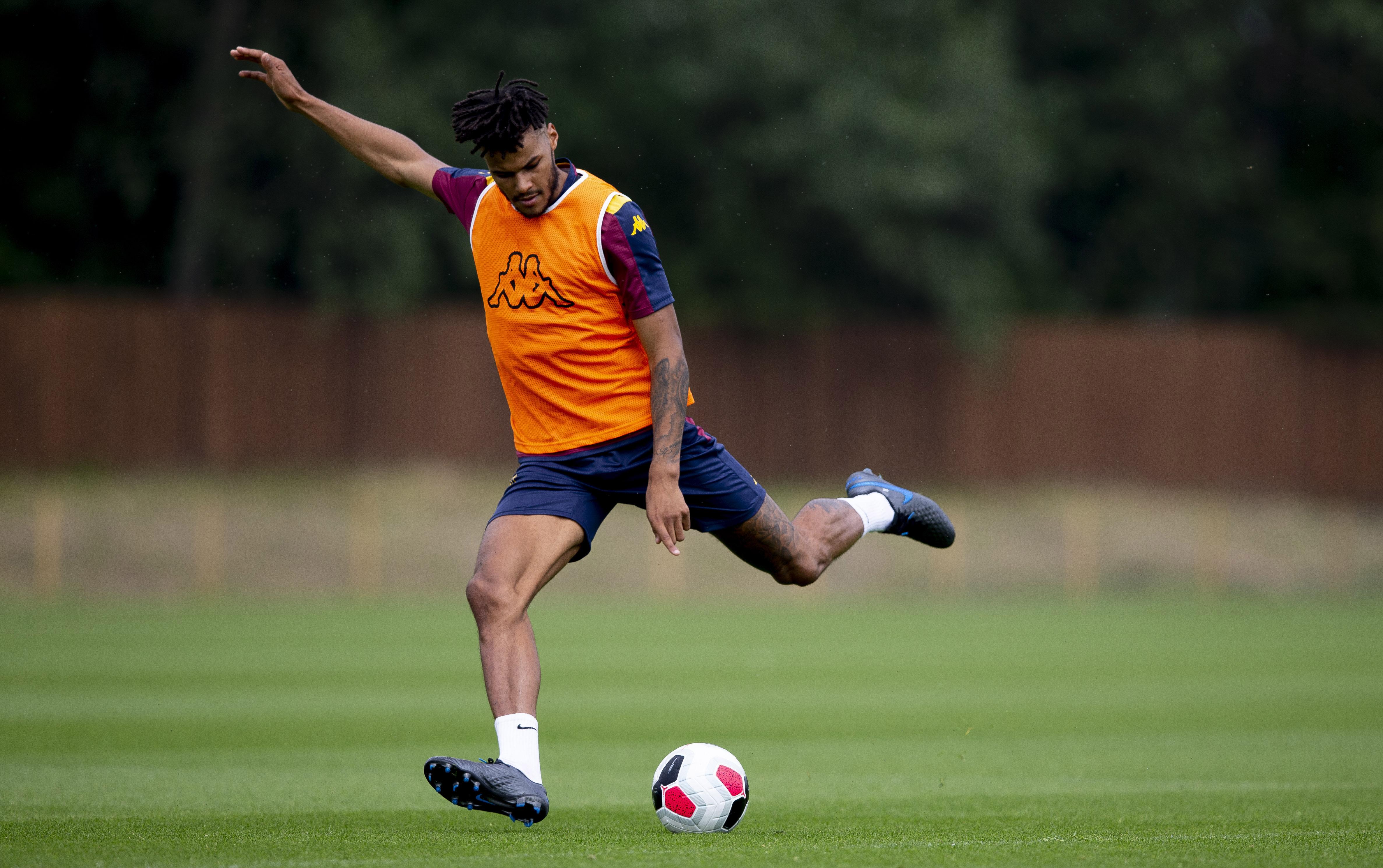Aston Villa Pre-Season Training Session