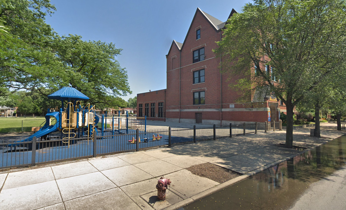 A gas main break July 11, 2019, prompted evacuations and a soft lockdown at a school in the 600 block of East 91st Place.