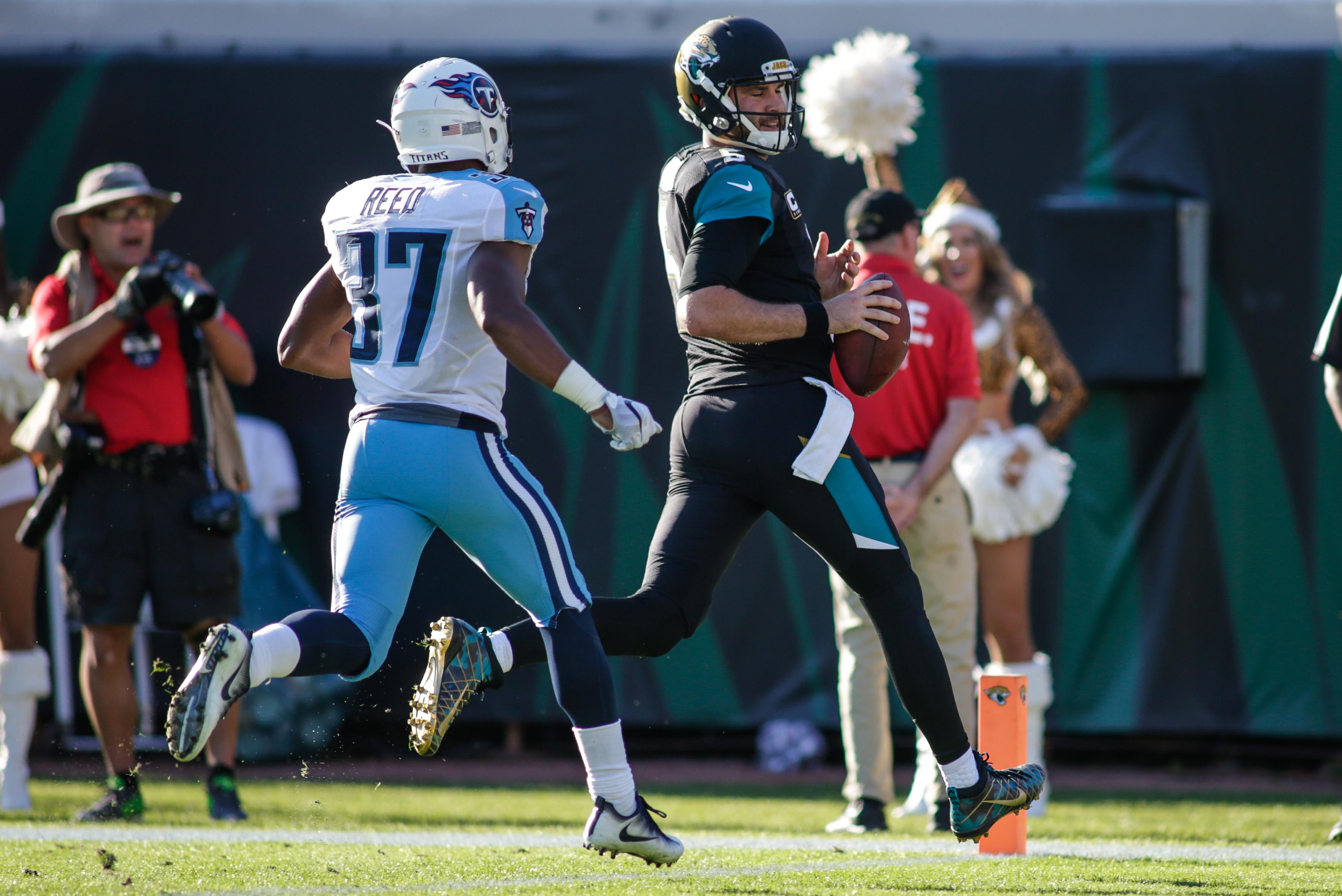 NFL: DEC 24 Titans at Jaguars