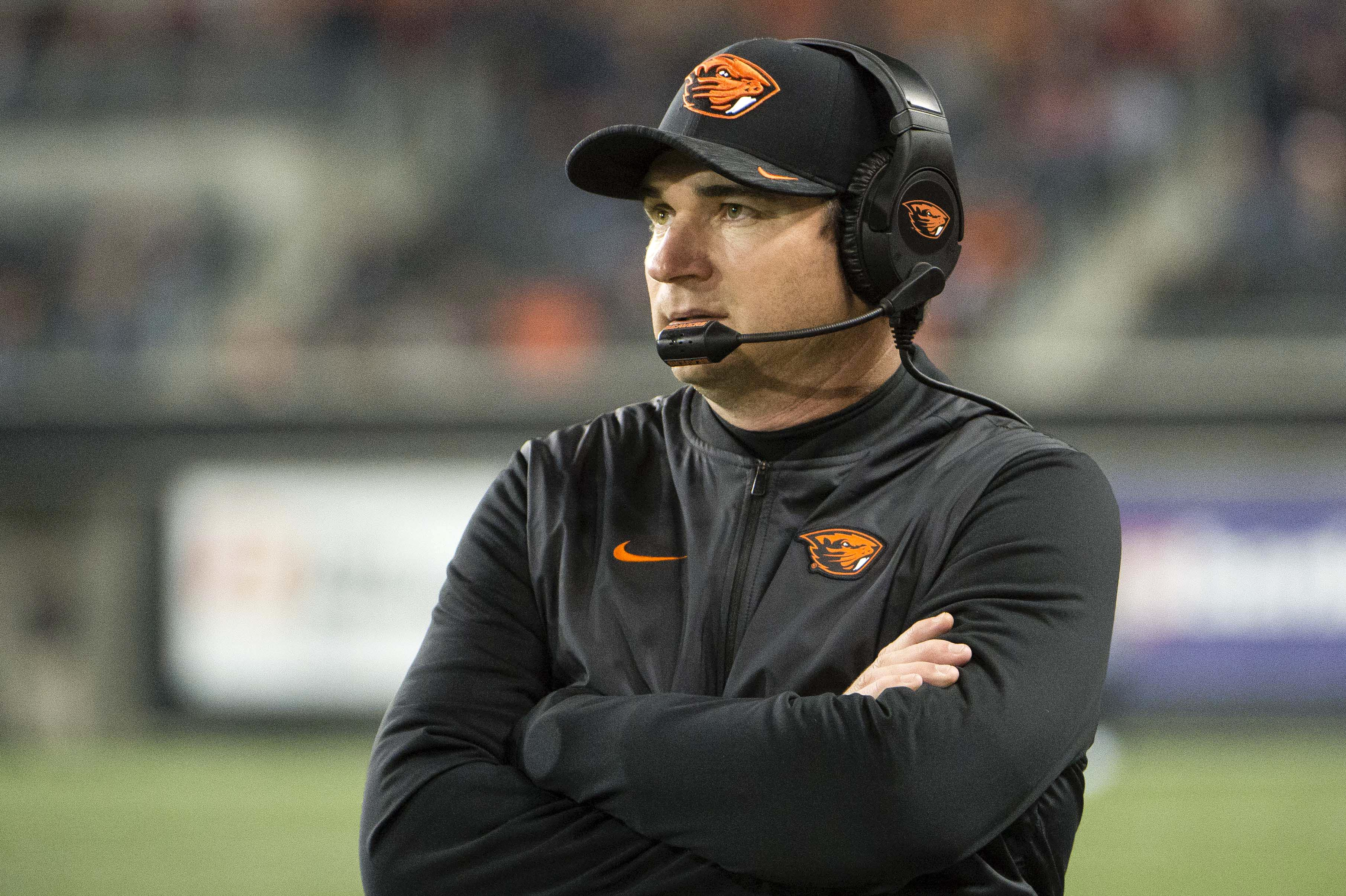 NCAA Football: Southern California at Oregon State