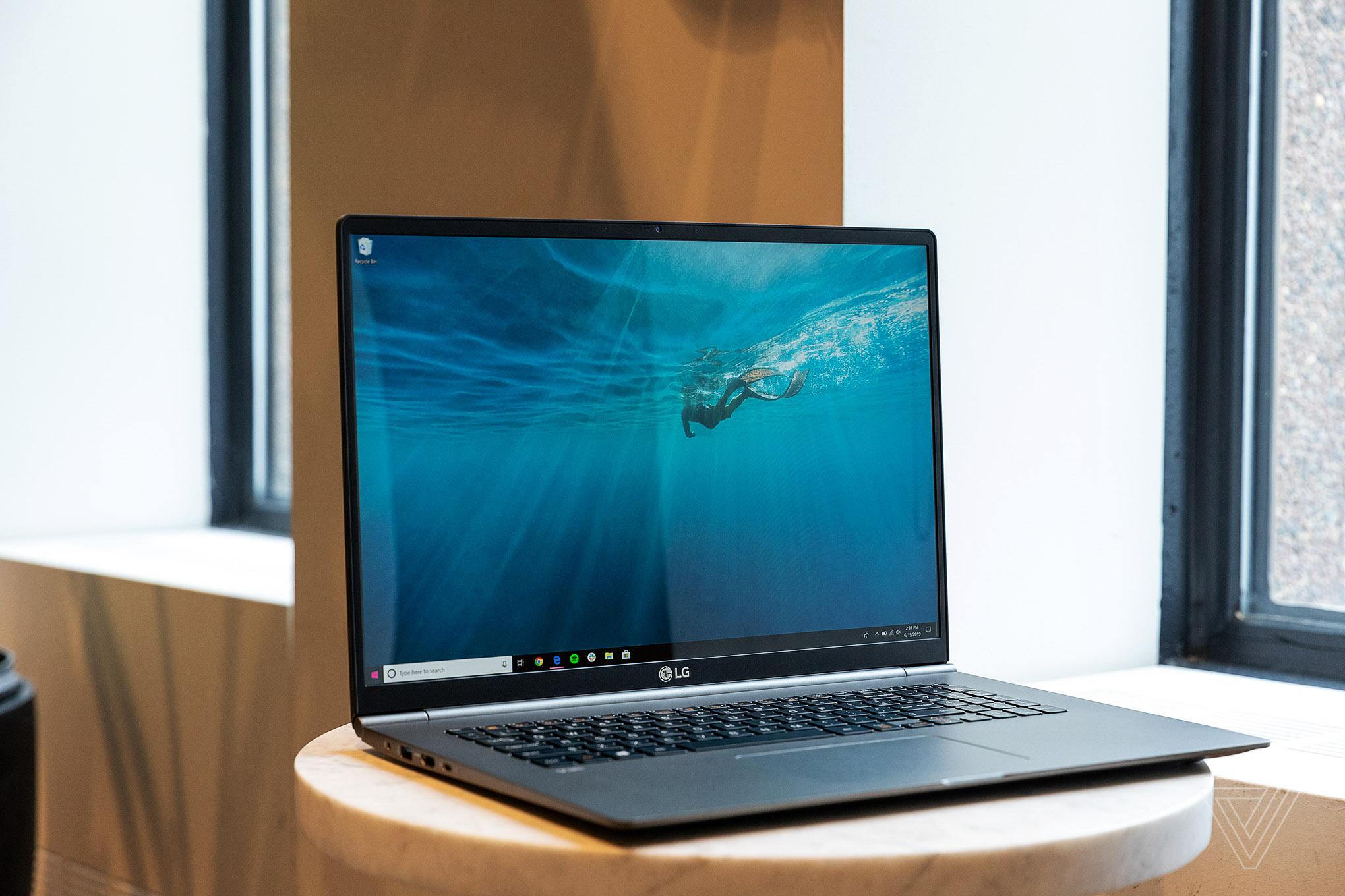 Best Laptops 2020: LG Gram 17.
