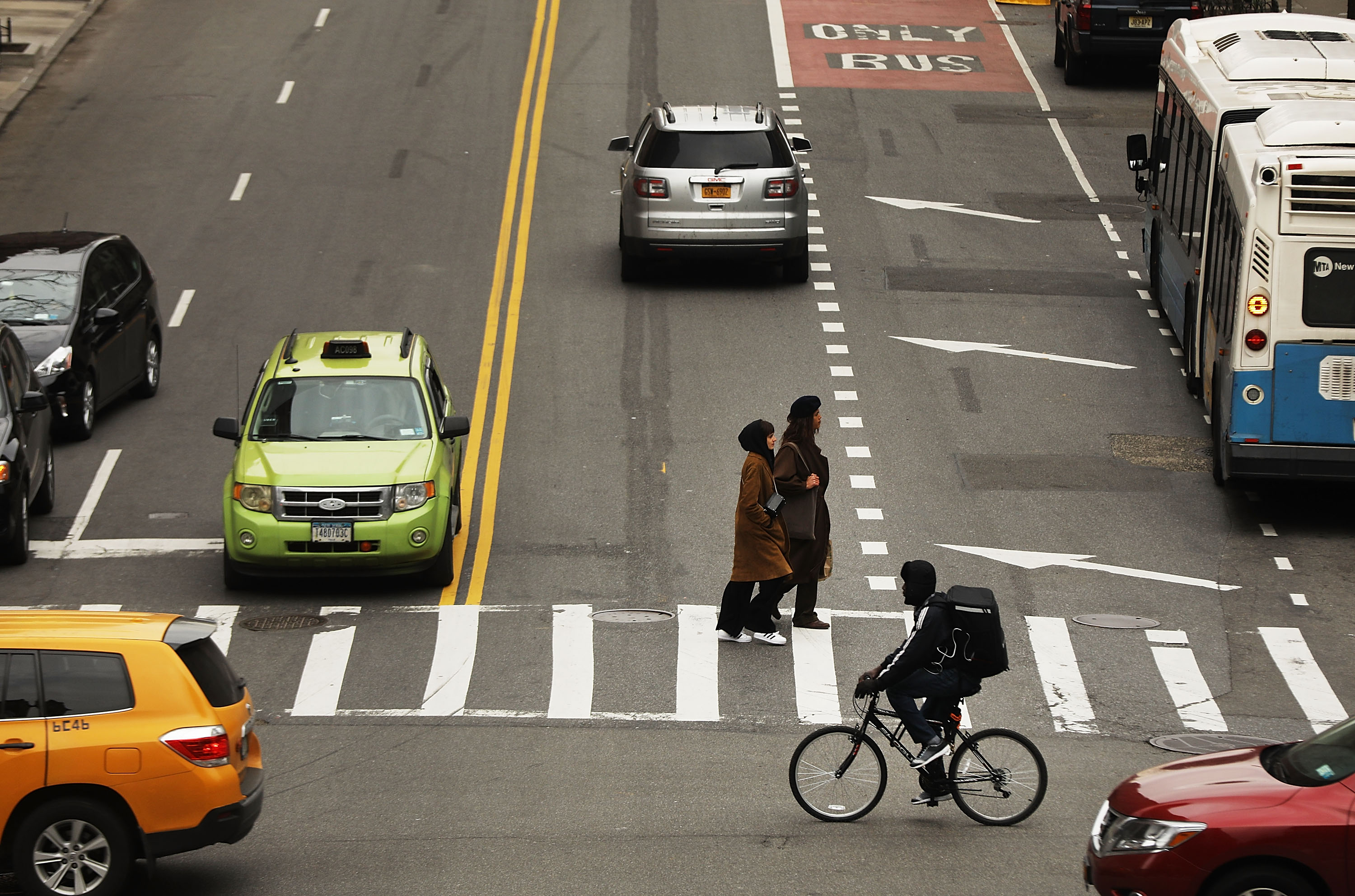 Pedestrian deaths keep rising in the U.S. Can Congress reverse the trend?