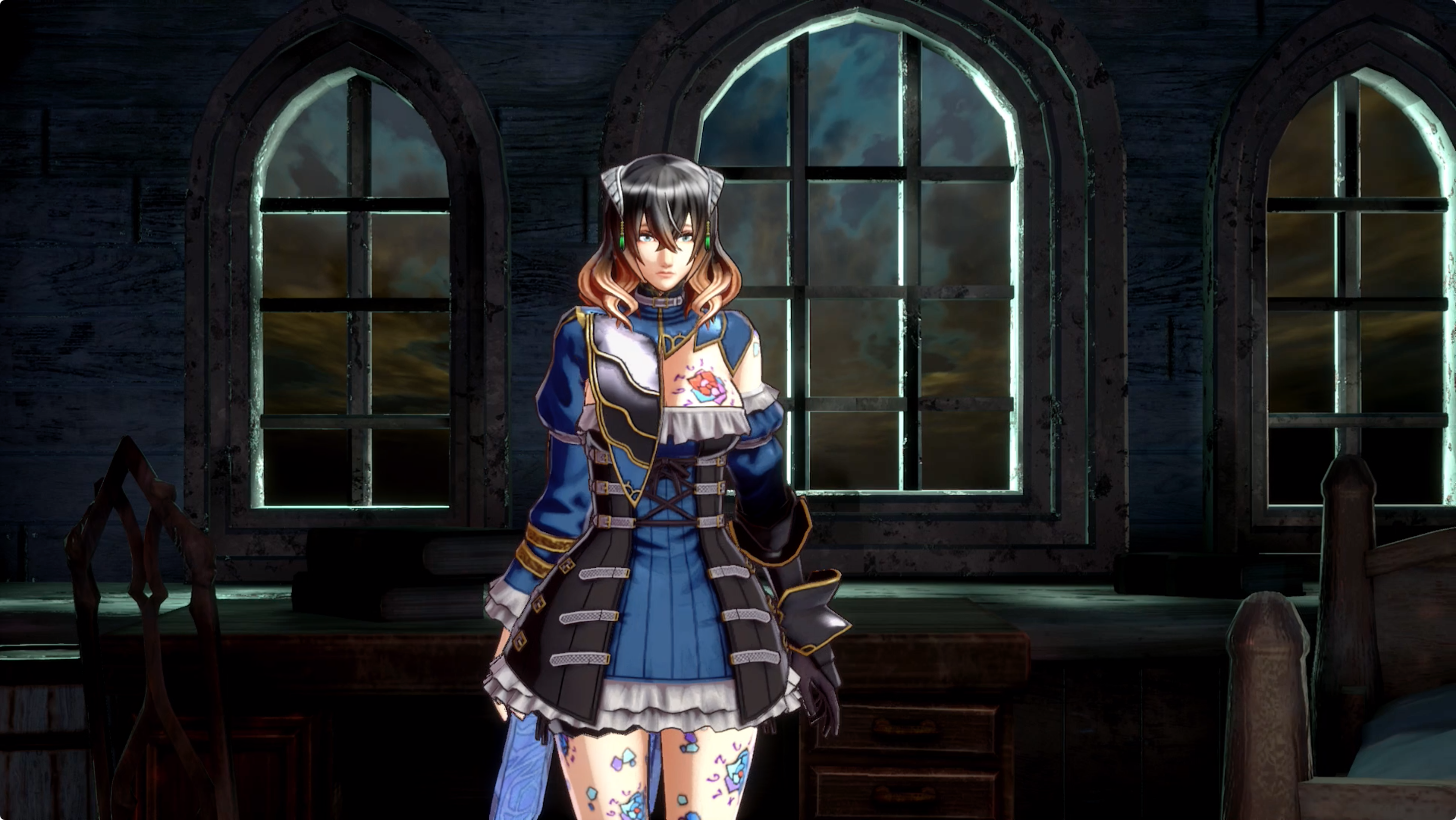 Bloodstained: Ritual of the Night world order