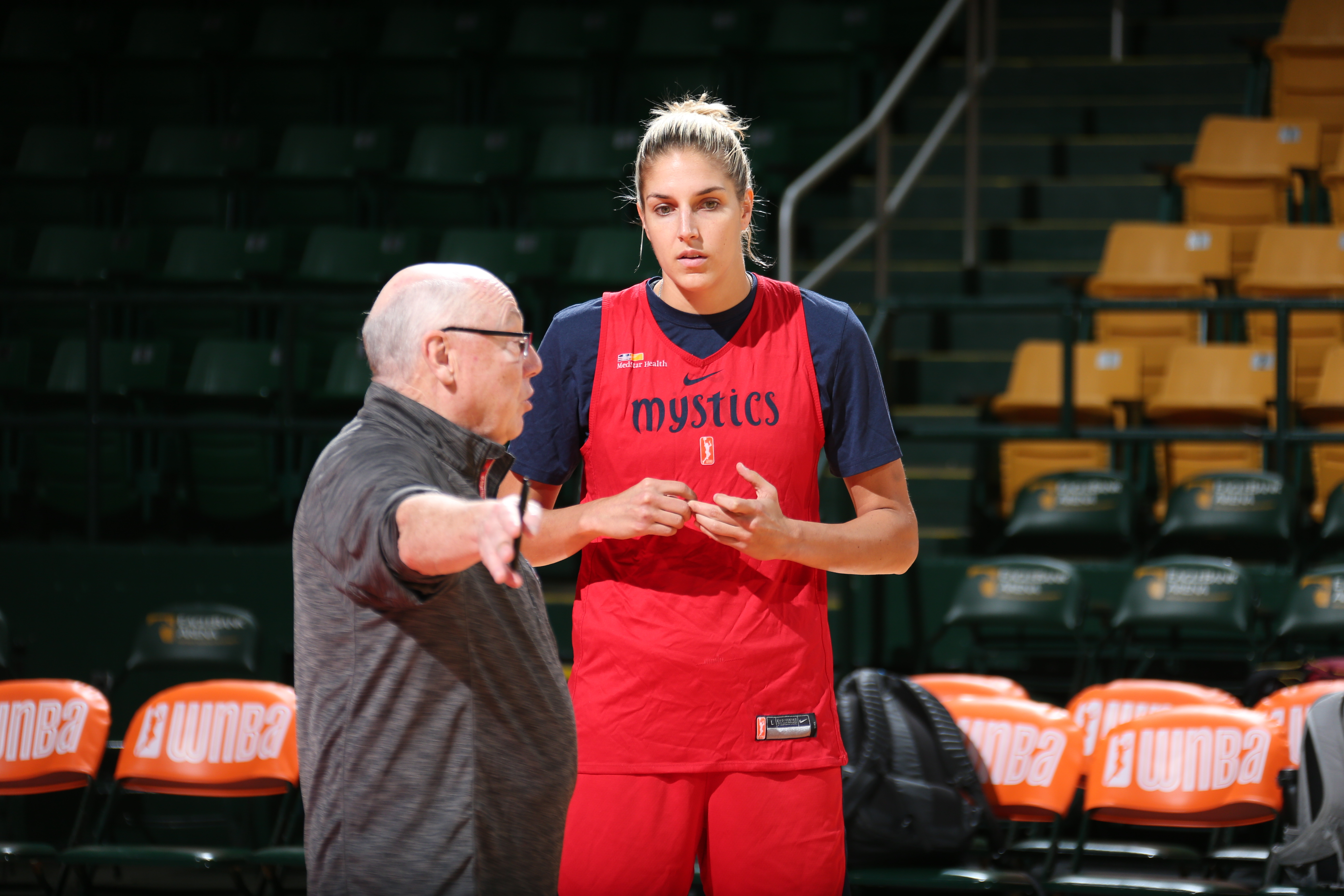 WNBA Finals Practice and Media Availability